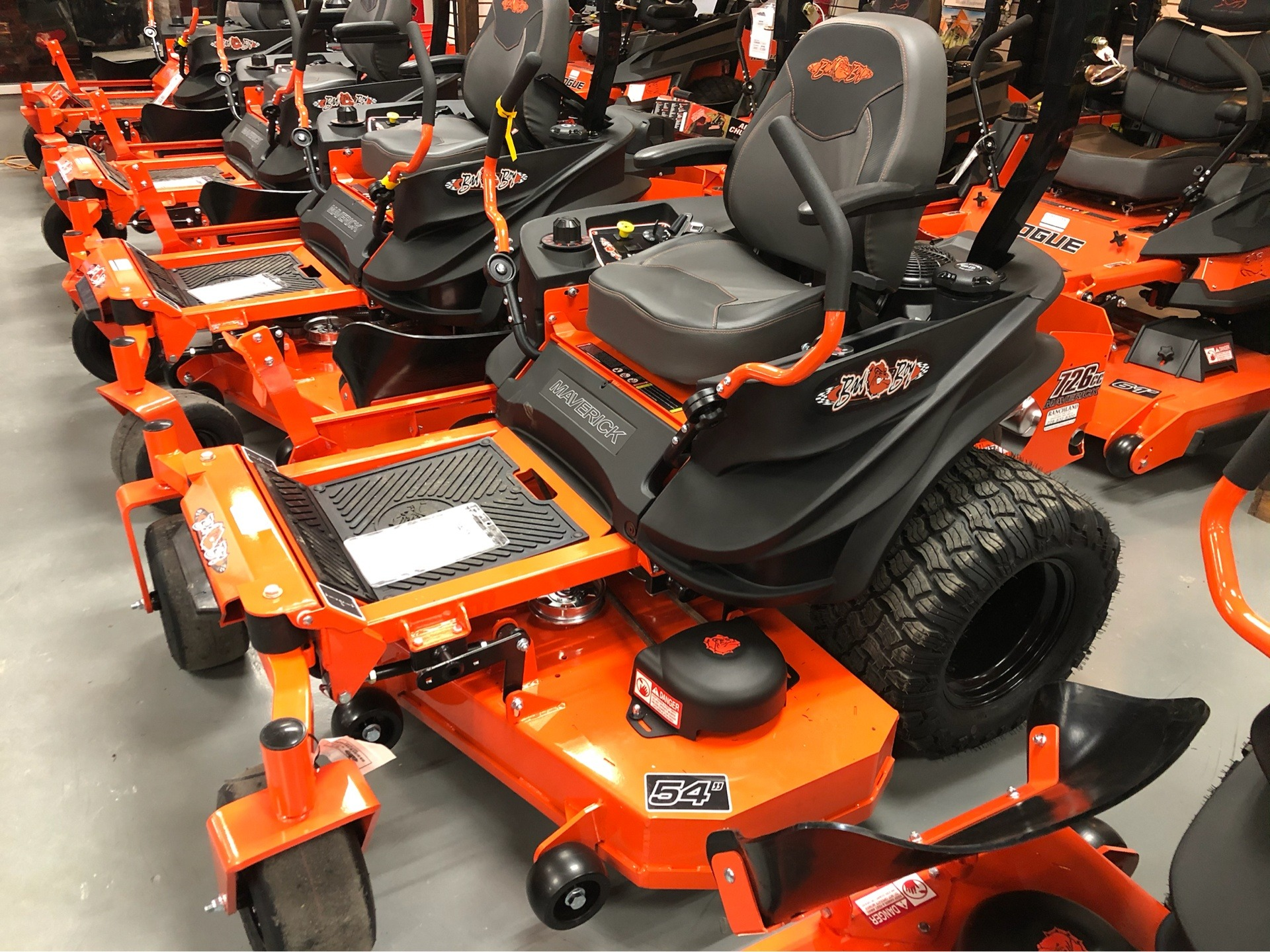 2020 Bad Boy Mowers Maverick 54 in. Kawasaki FS730 726 cc in Saucier, Mississippi - Photo 1