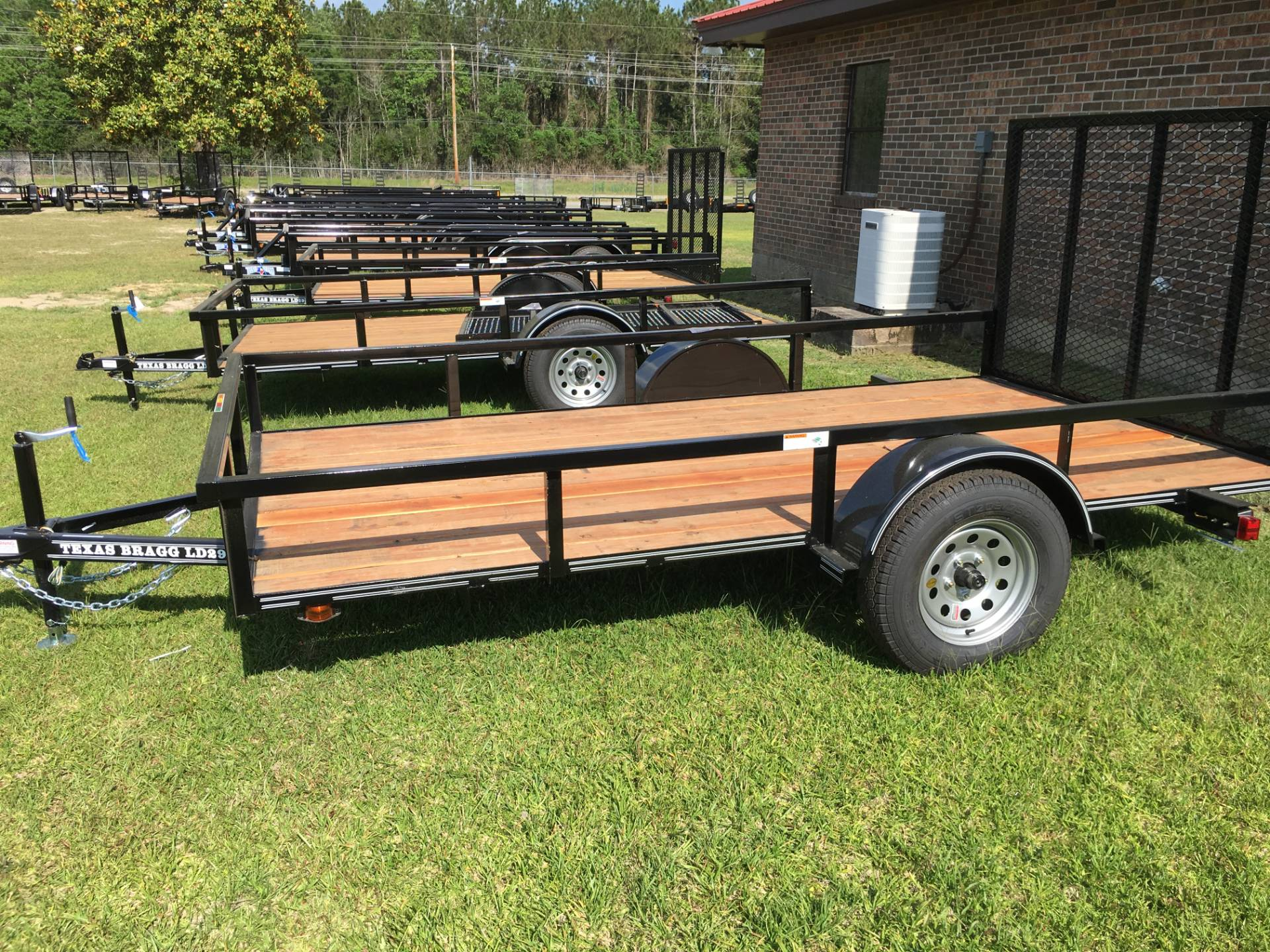 2018 Texas Bragg 6x12 LD, 4' Gate, Treated, LED in Saucier, Mississippi