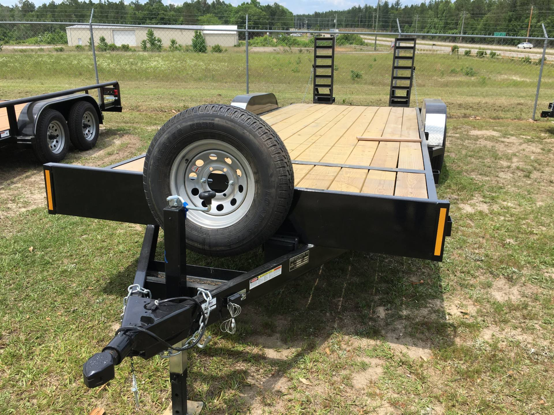 2017 Port City Trailers 83 x 24 Equipment Hauler 10K FUR in Saucier, Mississippi