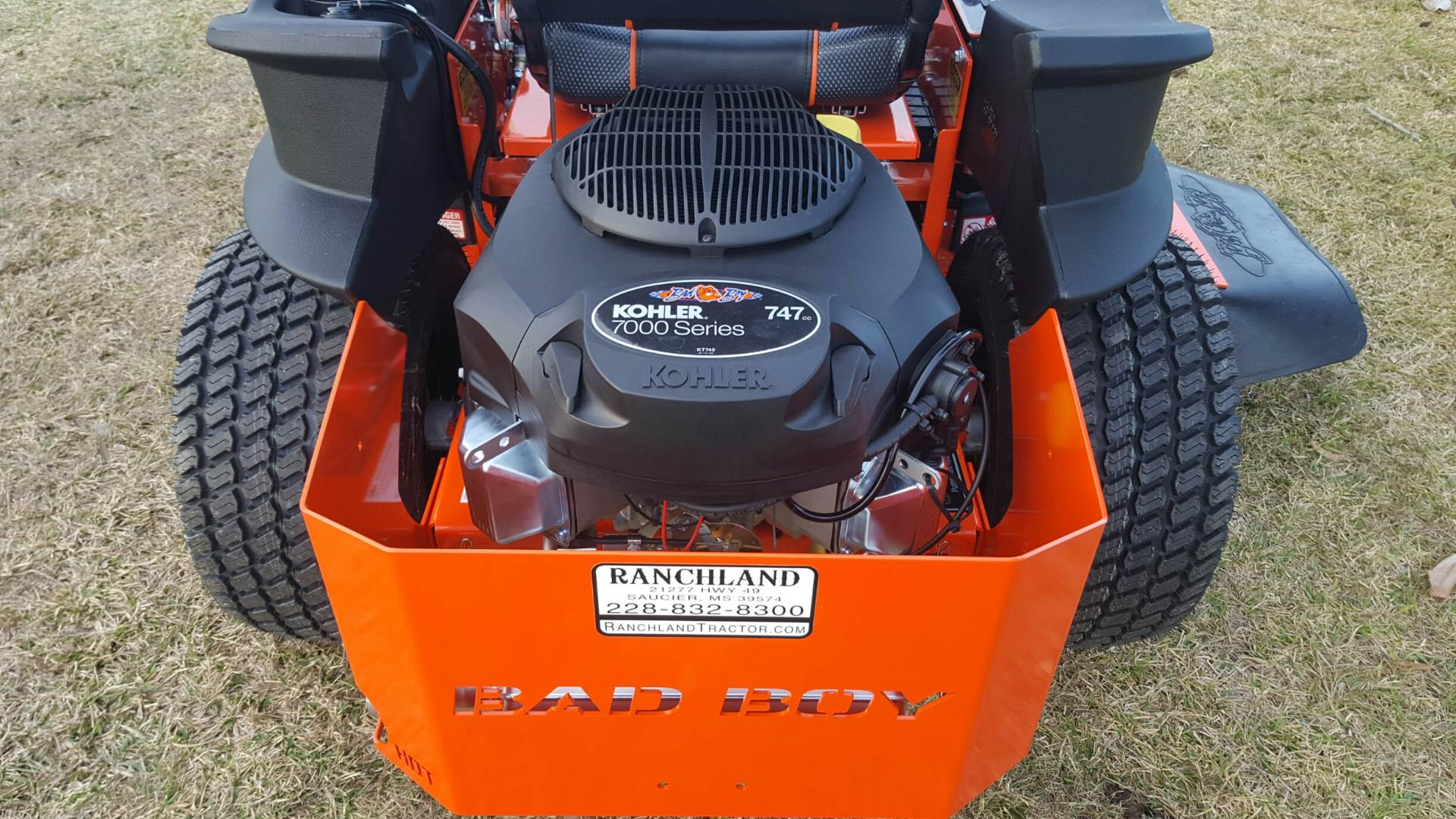 "2018 Bad Boy Mowers ZT Elite 54"" Kohler - BZ54KT745P in Saucier, Mississippi"
