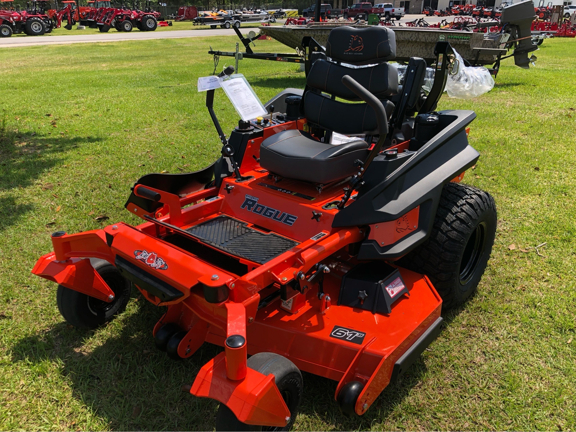 "2019 Bad Boy Mowers Rogue 61"" with 27hp Kawasaki in Saucier, Mississippi - Photo 4"