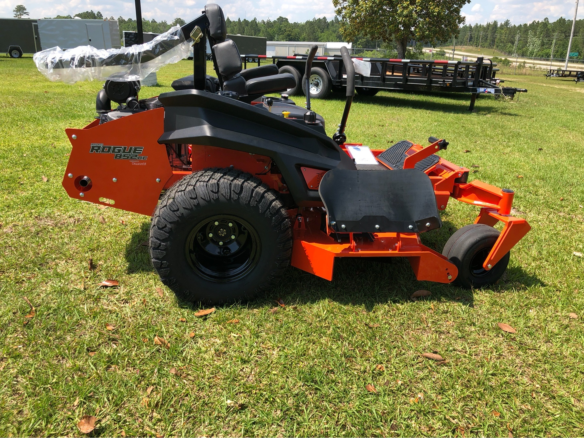 "2019 Bad Boy Mowers Rogue 61"" with 27hp Kawasaki in Saucier, Mississippi - Photo 13"