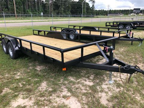 2020 Ranchland Trailers 7x20 Big Pipe 10K, SIR in Saucier, Mississippi - Photo 1