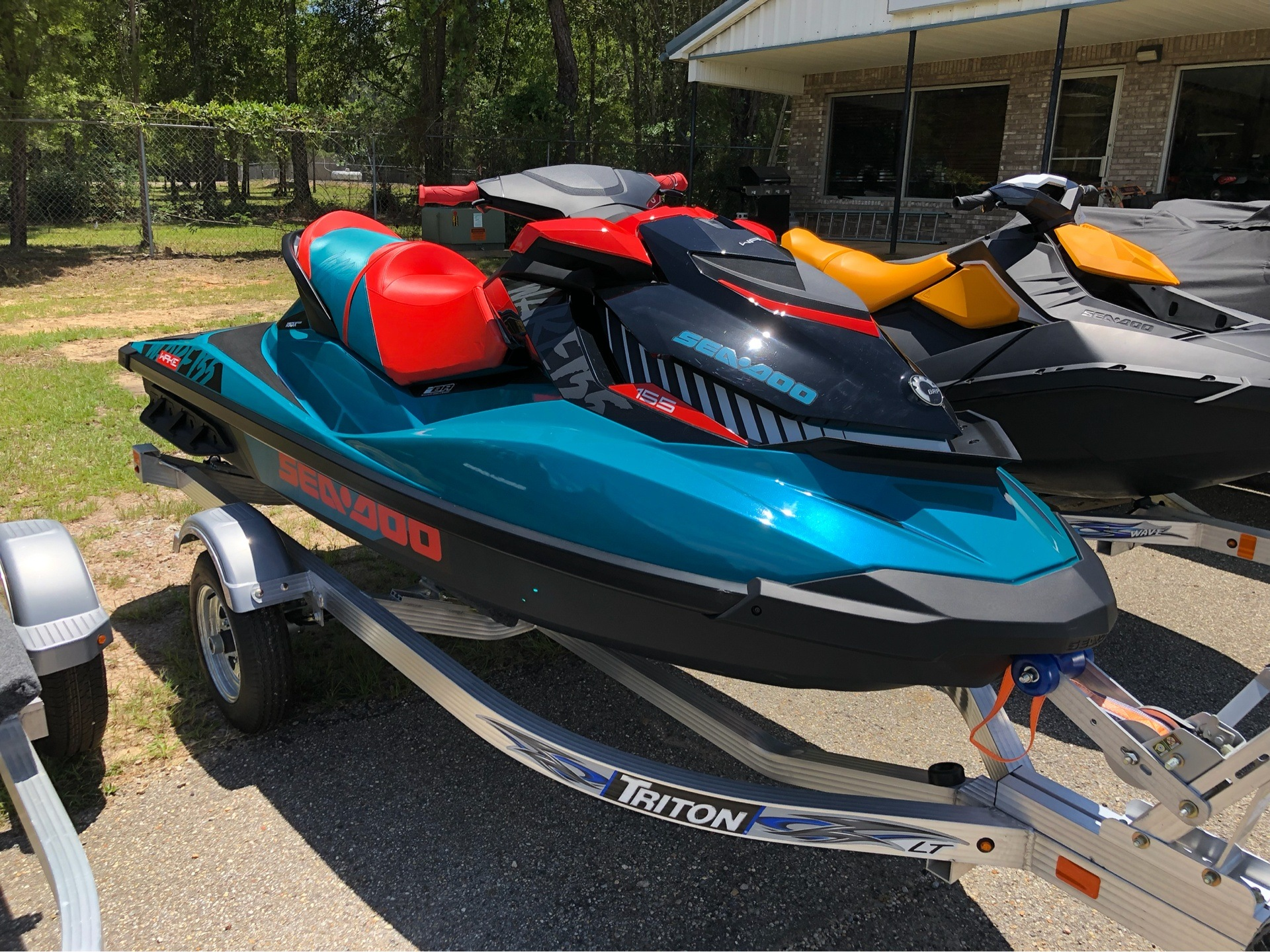 2019 Sea-Doo WAKE 155 iBR in Saucier, Mississippi - Photo 2