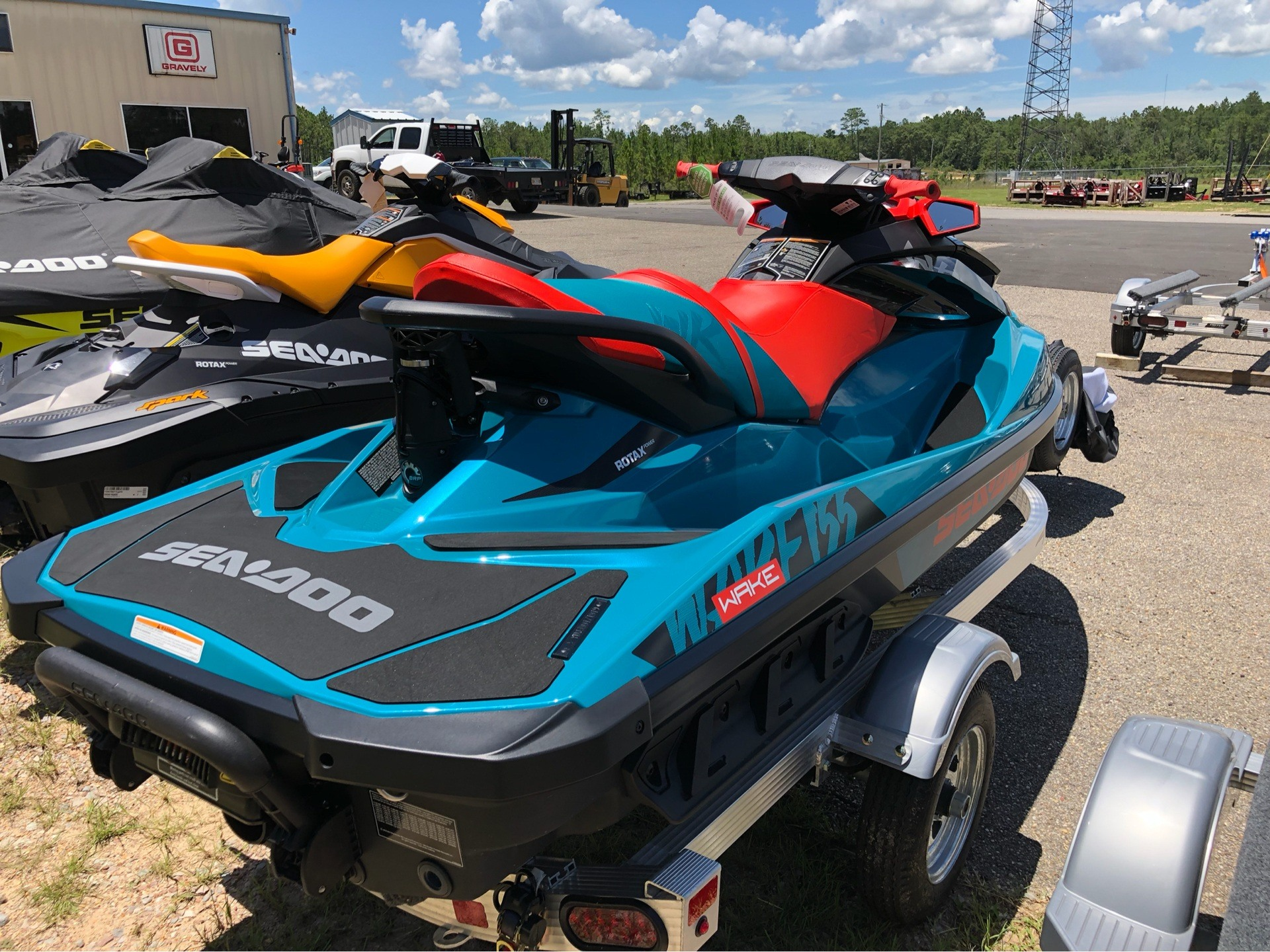 2019 Sea-Doo WAKE 155 iBR in Saucier, Mississippi - Photo 3