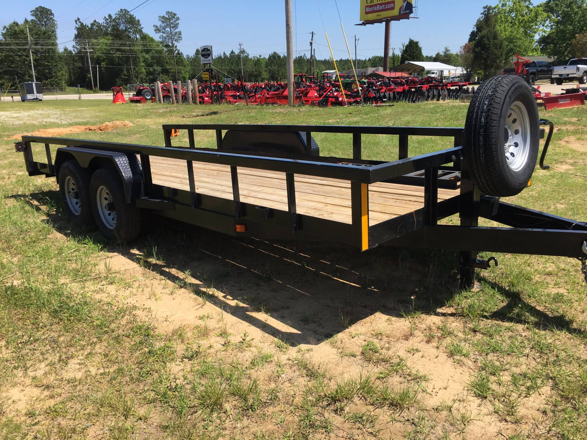 2017 Port City Trailers 20' Heavy Hauler 14K with SIR in Saucier, Mississippi