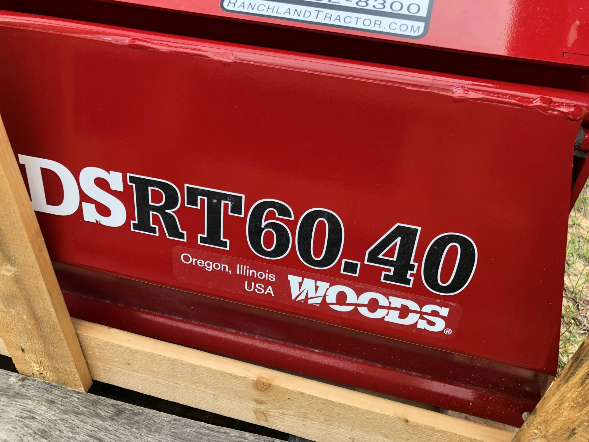 2019 Woods 5' Tiller in Saucier, Mississippi - Photo 2