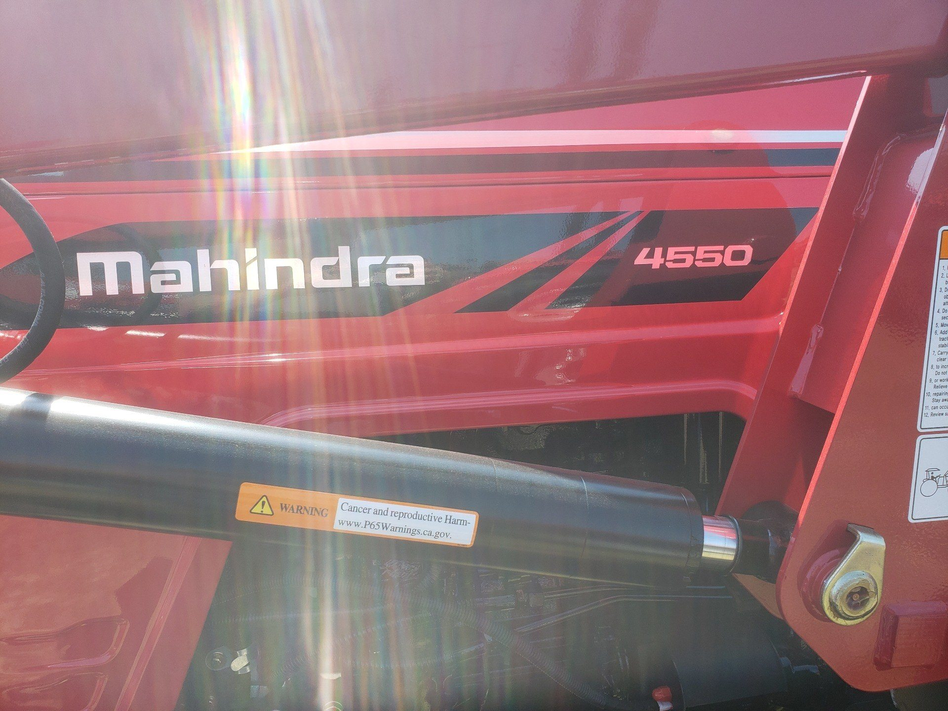 2019 Mahindra 4550 4WD in Saucier, Mississippi - Photo 5