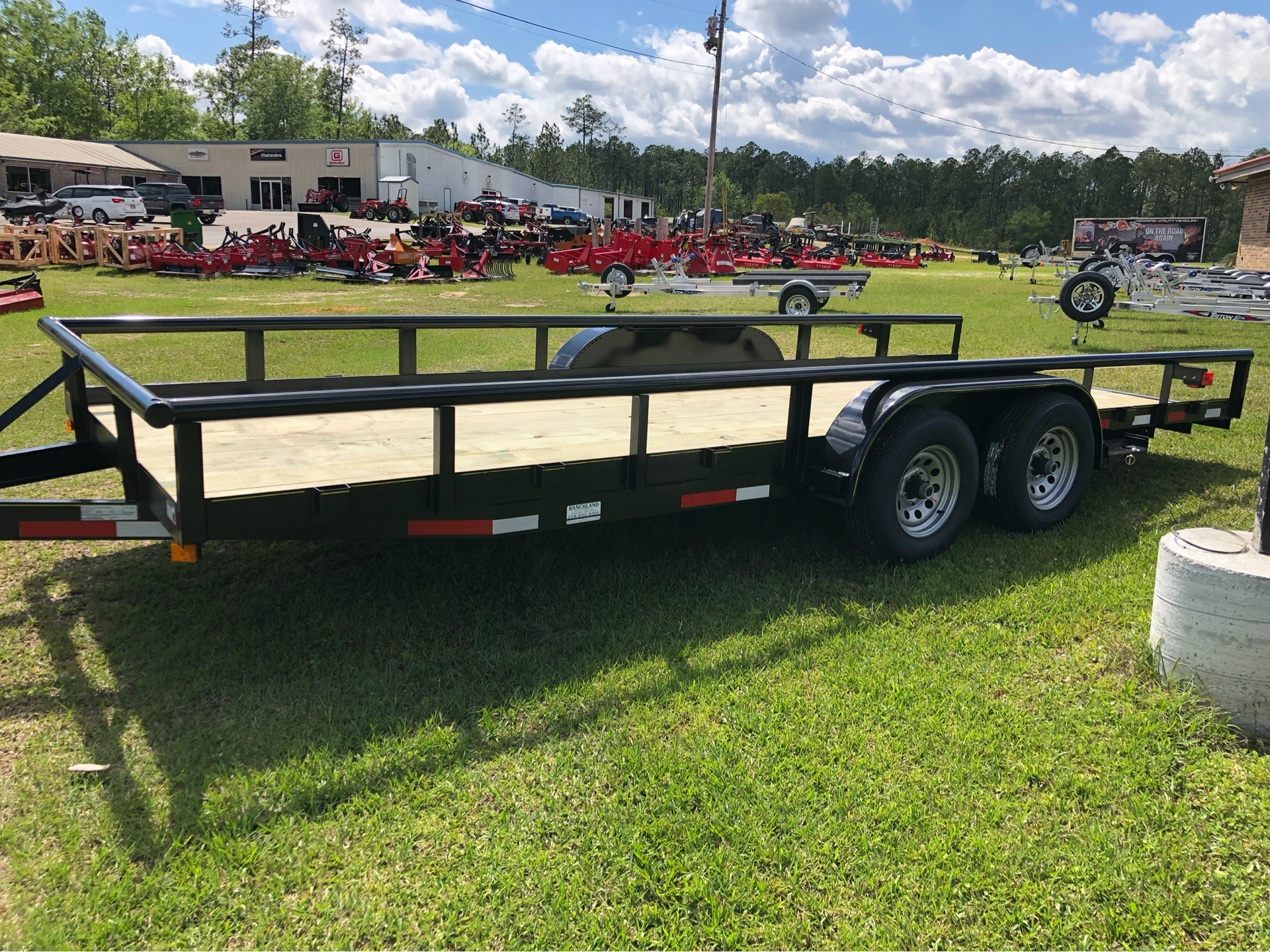 2019 Ranchland Trailers 7x20 Big Pipe, 10K, SIR, Brakes in Saucier, Mississippi - Photo 1
