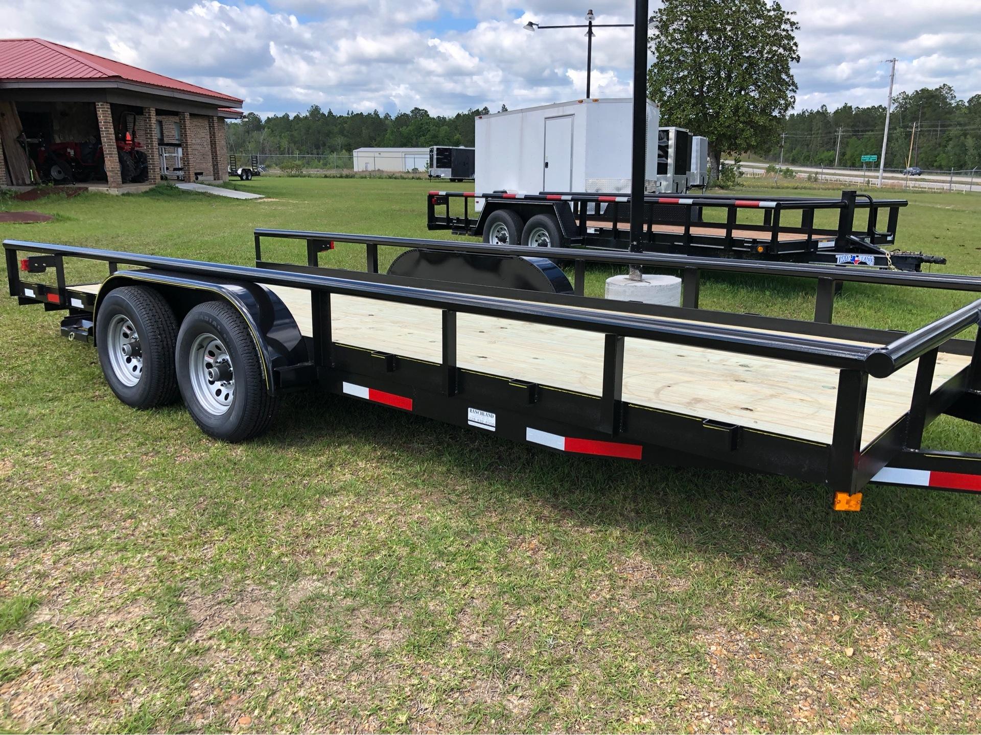 2019 Ranchland Trailers 7x20 Big Pipe, 10K, SIR, Brakes in Saucier, Mississippi - Photo 4