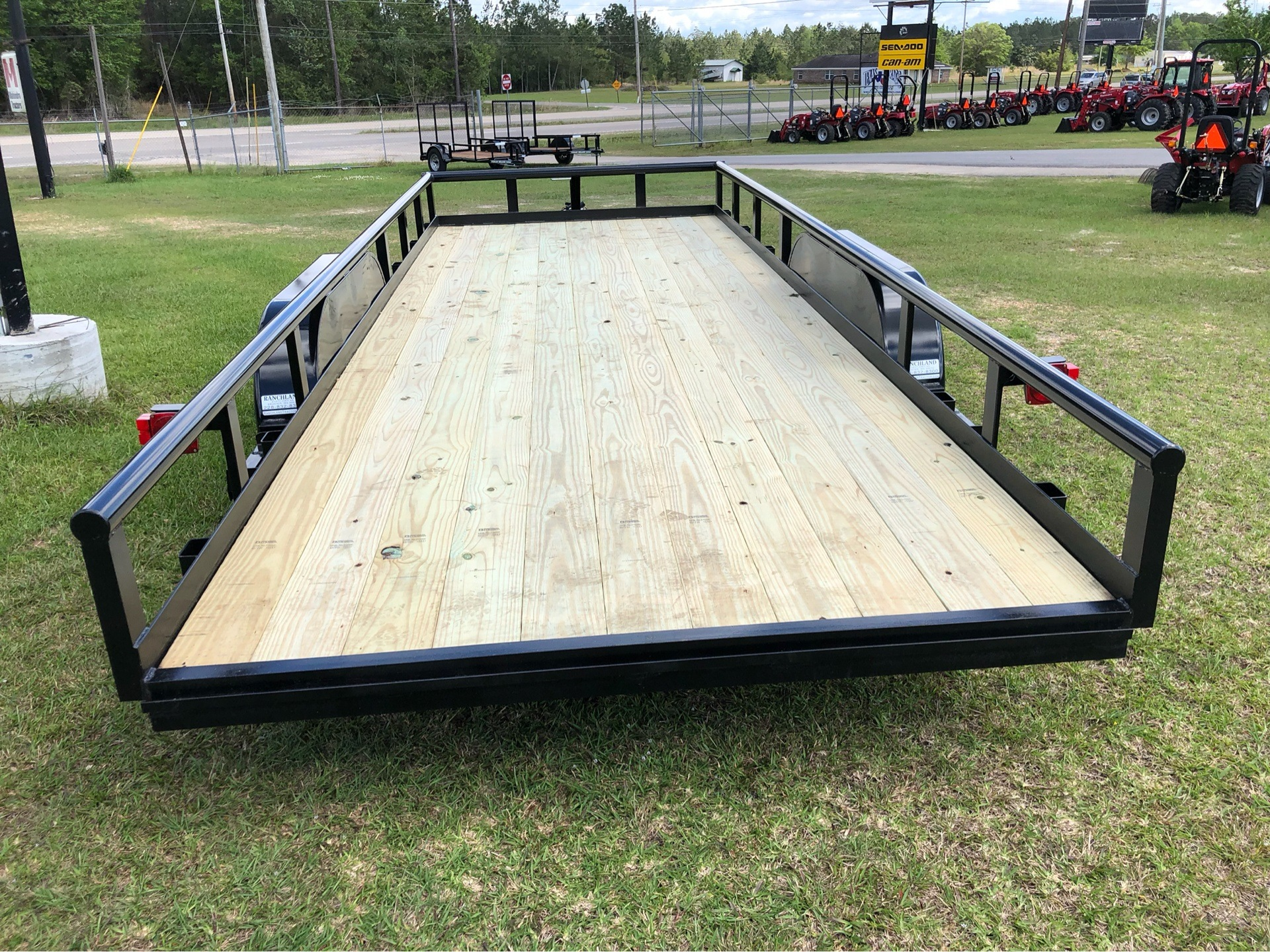 2019 Ranchland Trailers 7x20 Big Pipe, 10K, SIR, Brakes in Saucier, Mississippi - Photo 7