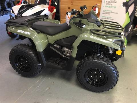 2018 Can-Am Outlander 570 in Saucier, Mississippi