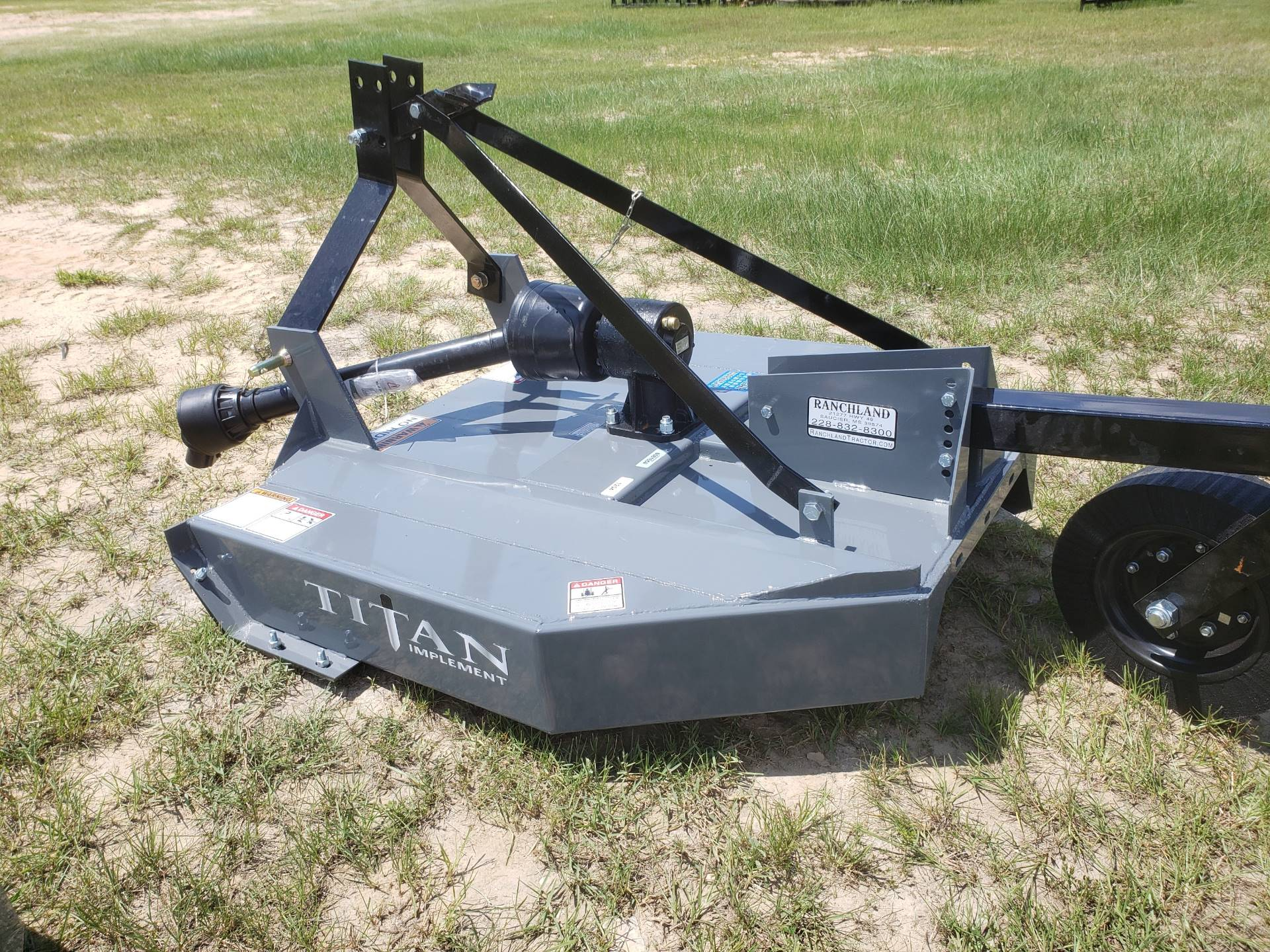 2020 Titan Implement 4' Rotary Cutter in Saucier, Mississippi - Photo 4