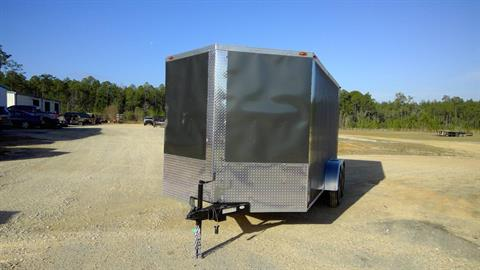 2017 Triple R Trailers 7x14 TA Cargo Charcoal in Saucier, Mississippi
