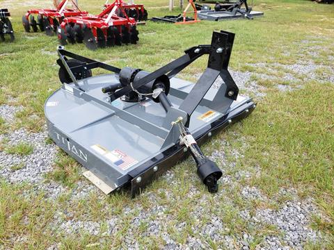2021 Titan Implement 5' HD Cutter, Round Back in Saucier, Mississippi - Photo 1