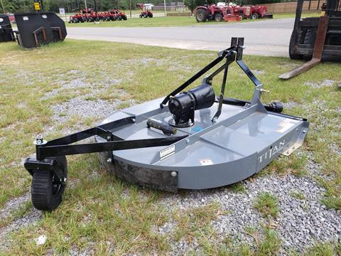 2021 Titan Implement 5' HD Cutter, Round Back in Saucier, Mississippi - Photo 4