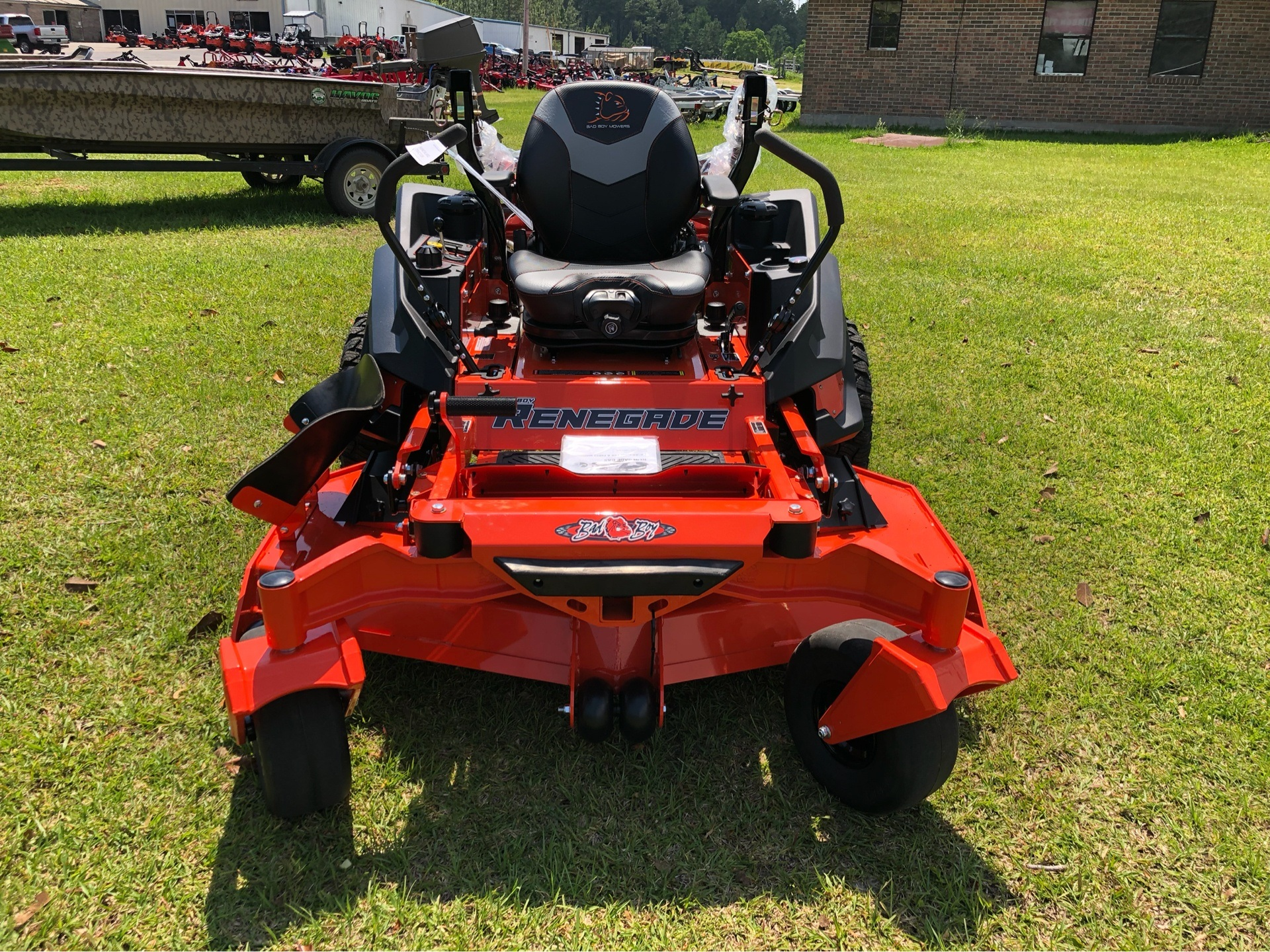 "2019 Bad Boy Mowers Renegade 61"" with 37hp Vanguard EFI in Saucier, Mississippi - Photo 1"