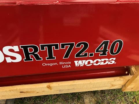 2019 Woods RT72.40 Tiller in Saucier, Mississippi - Photo 2