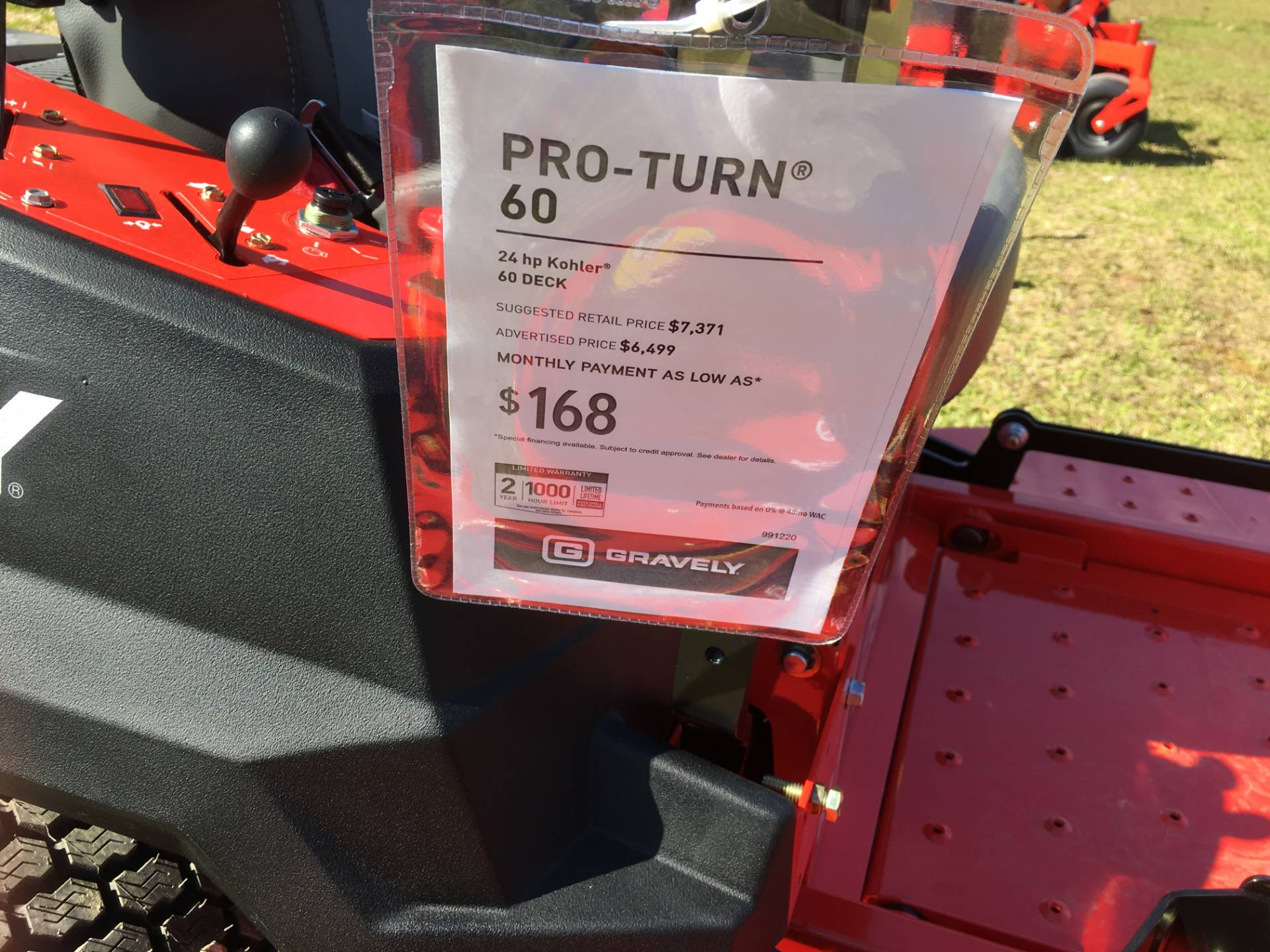2018 Gravely USA Pro-Turn 60 (Kohler) in Saucier, Mississippi - Photo 11