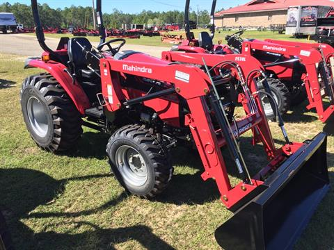2017 Mahindra 2538 4wd HST with Front End Loader in Saucier, Mississippi