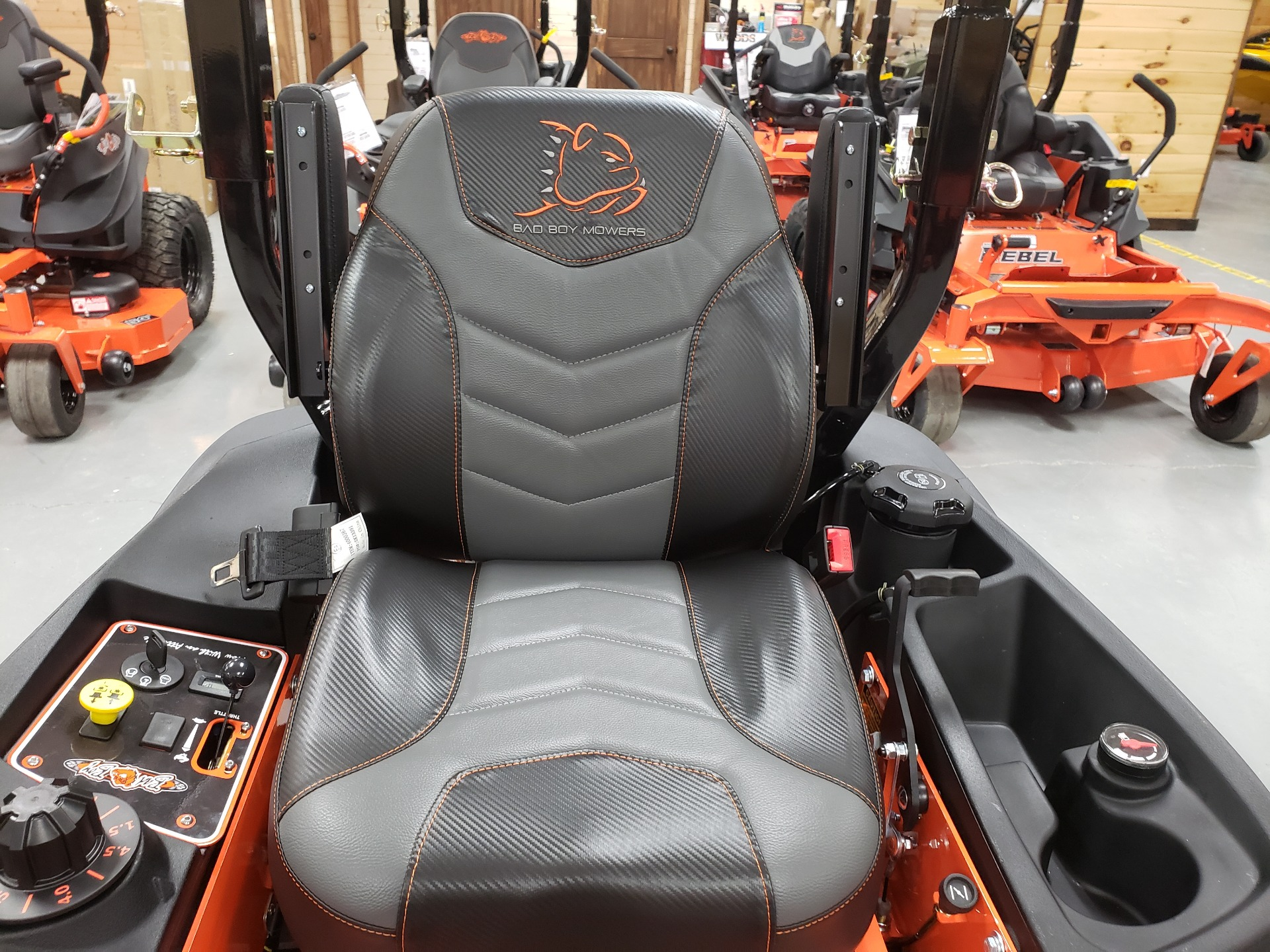 "2021 Bad Boy Mowers 48"" Compact Outlaw w/ FX691 Kawi in Saucier, Mississippi - Photo 3"