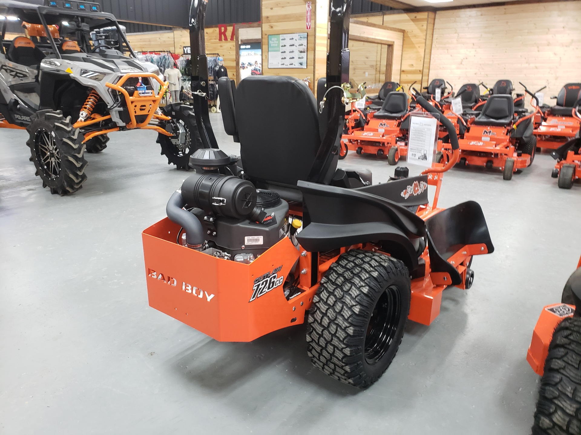 "2021 Bad Boy Mowers 48"" Compact Outlaw w/ FX691 Kawi in Saucier, Mississippi - Photo 5"