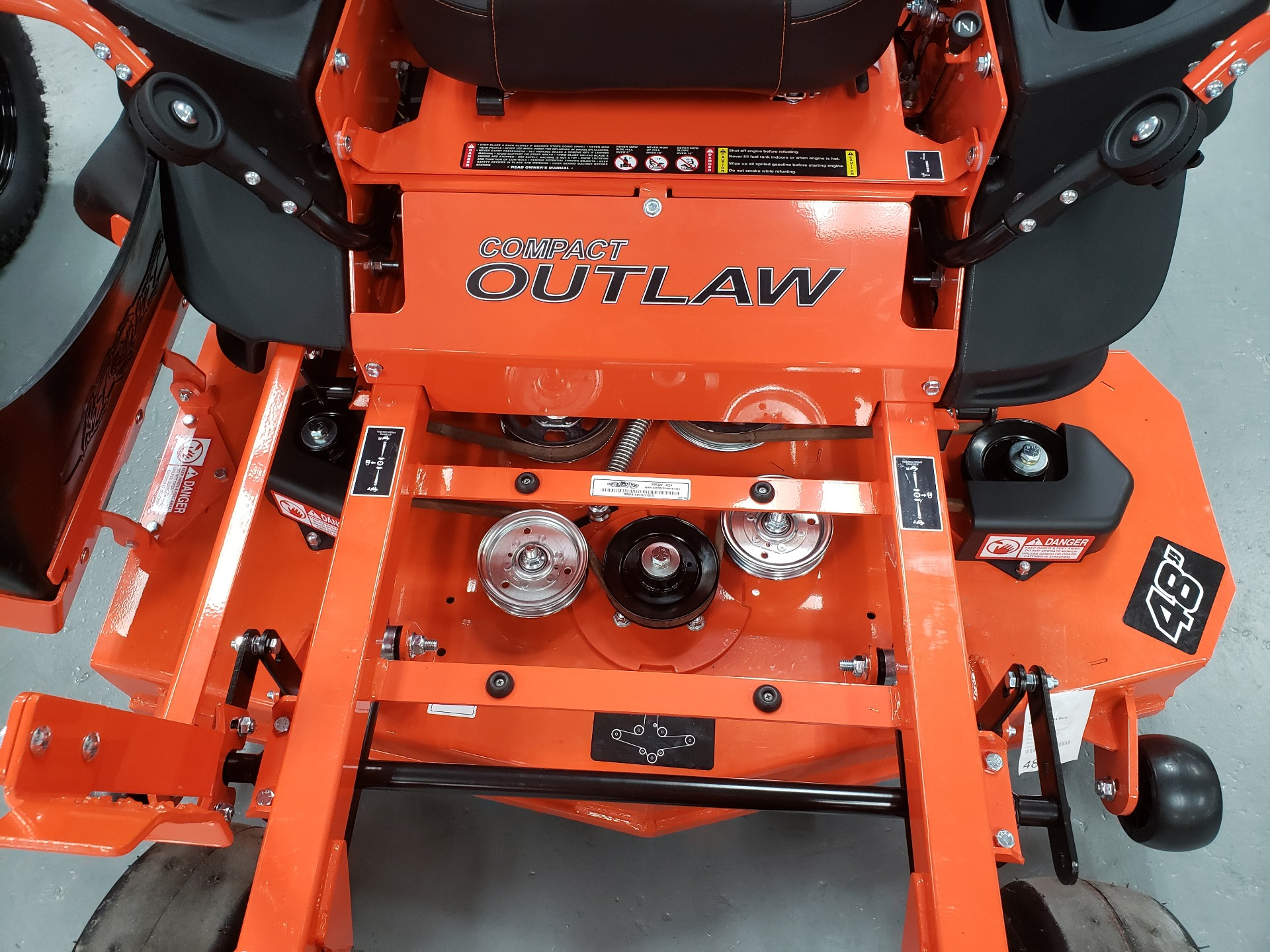 "2021 Bad Boy Mowers 48"" Compact Outlaw w/ FX691 Kawi in Saucier, Mississippi - Photo 10"