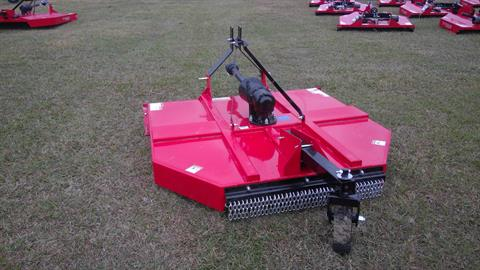2017 Titan 6' MD Rotary Cutter with Slip Clutch and Chain Guards in Saucier, Mississippi