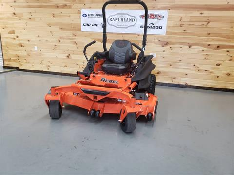 "2019 Bad Boy Mowers Rebel 61"" with 27hp Kawasaki in Saucier, Mississippi"