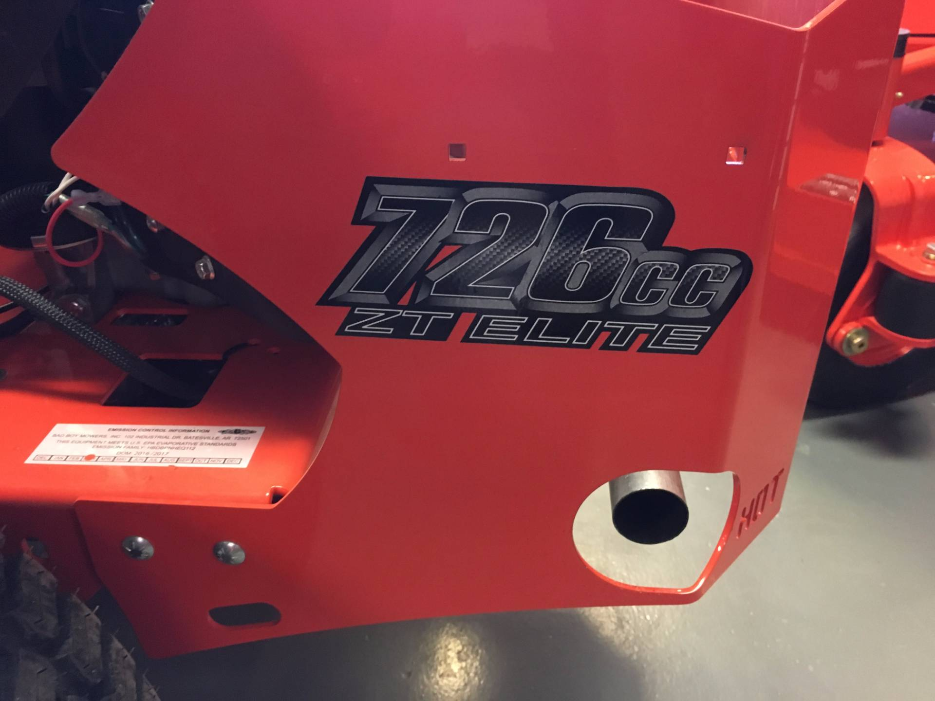"2017 Bad Boy Mowers ZT 54"" with Kawasaki Engine in Saucier, Mississippi"
