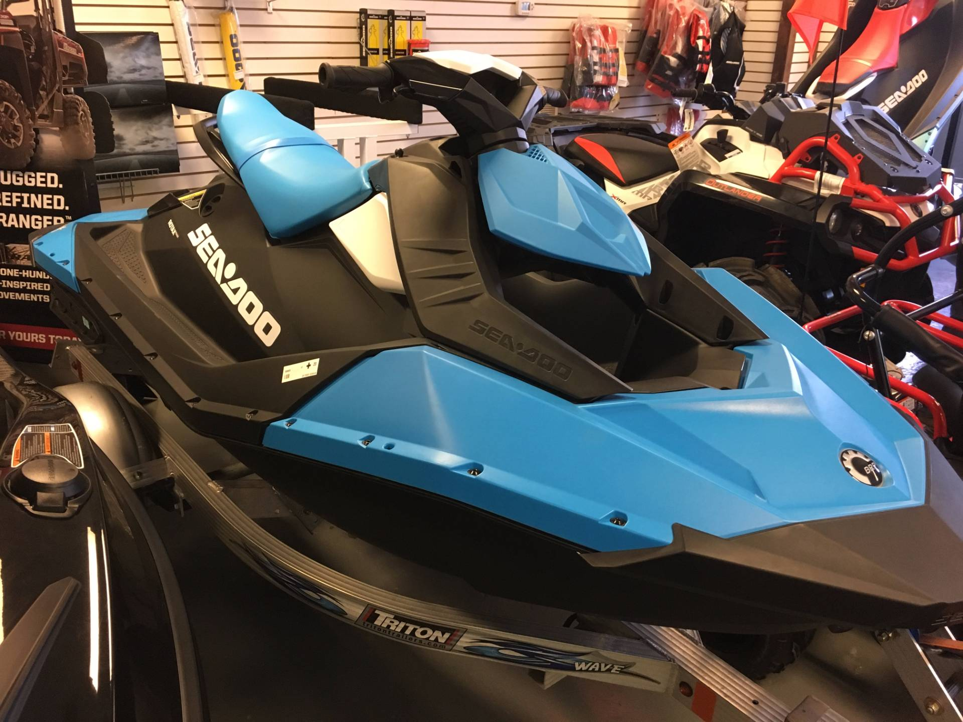 2017 Sea-Doo SPARK 2up 900 H.O. ACE in Saucier, Mississippi