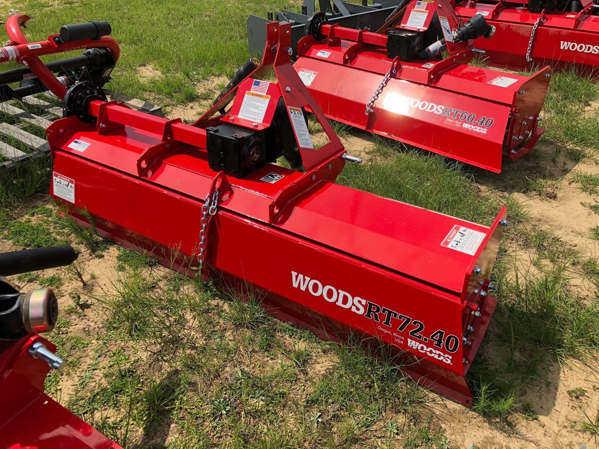 2020 Woods RT72.40 / RTR72.40 Rotary Tiller in Saucier, Mississippi - Photo 3