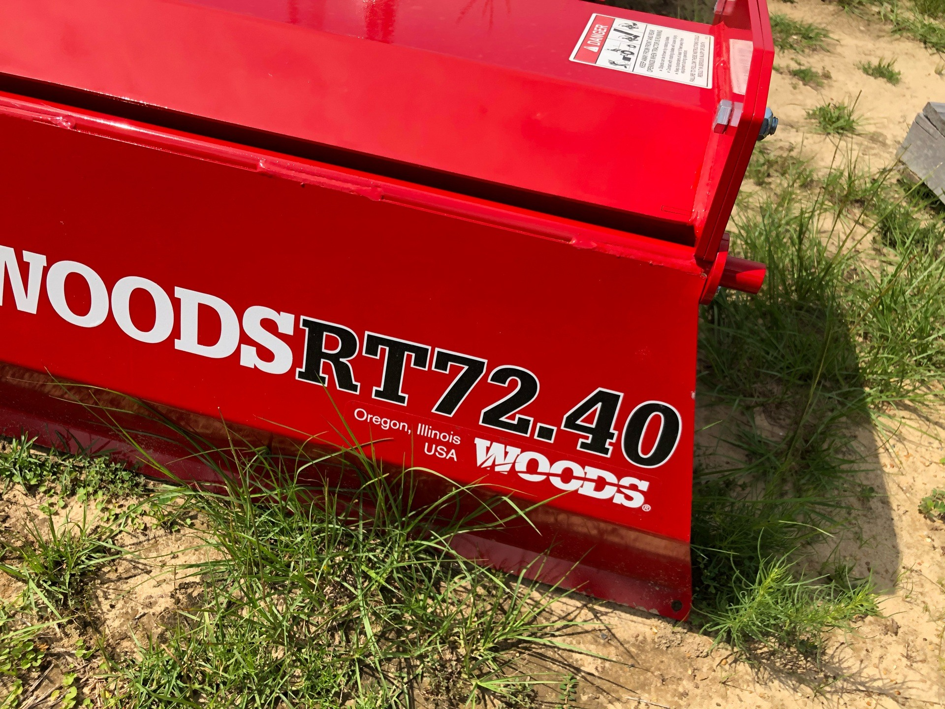 2020 Woods RT72.40 / RTR72.40 Rotary Tiller in Saucier, Mississippi - Photo 4