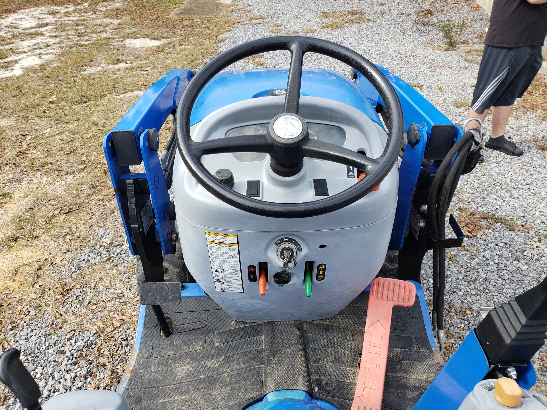 2012 New Holland Agriculture Boomer Compact 20 in Saucier, Mississippi - Photo 9