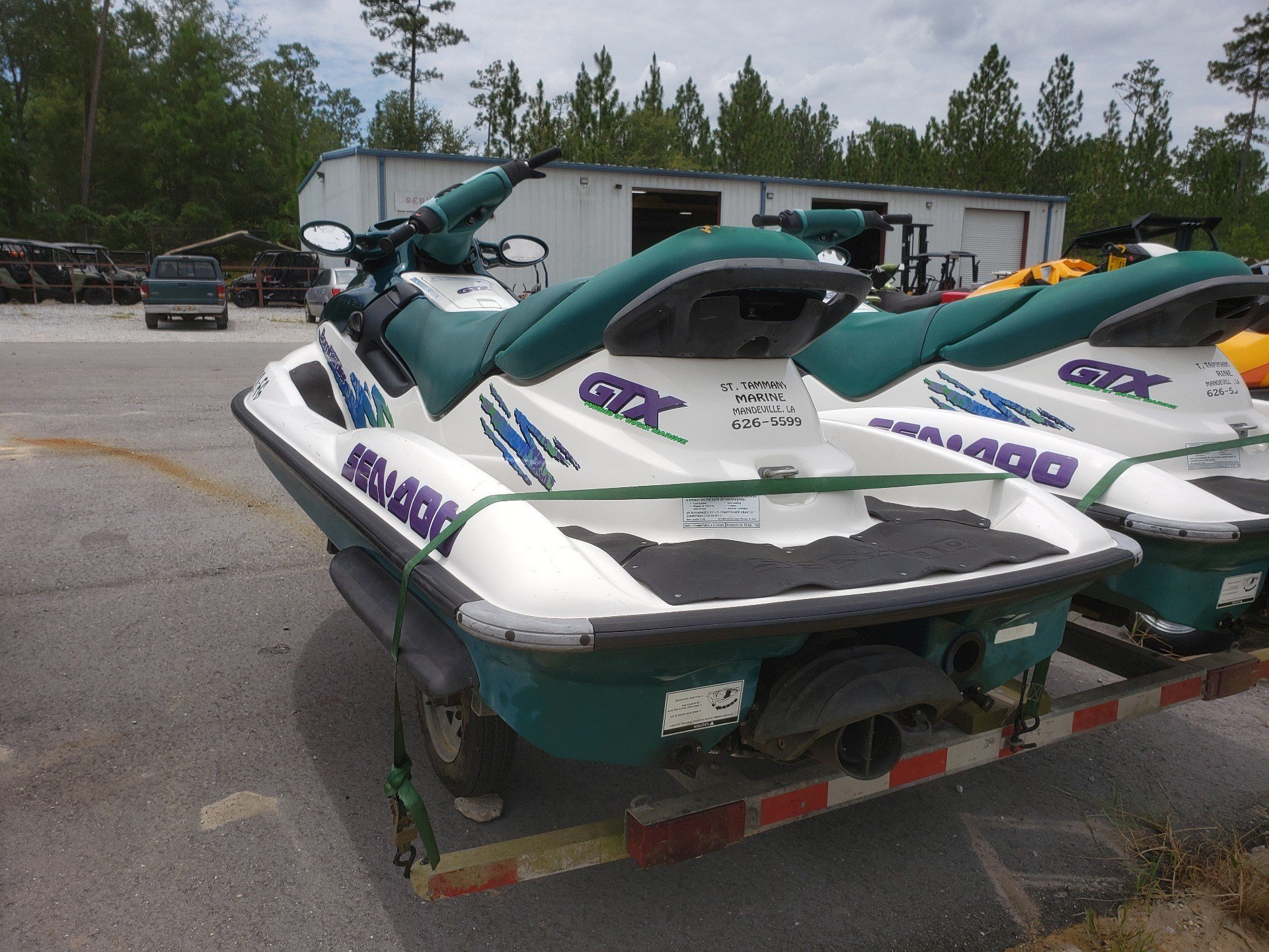1997 Sea-Doo GTX 5642 - 782cc in Saucier, Mississippi - Photo 4