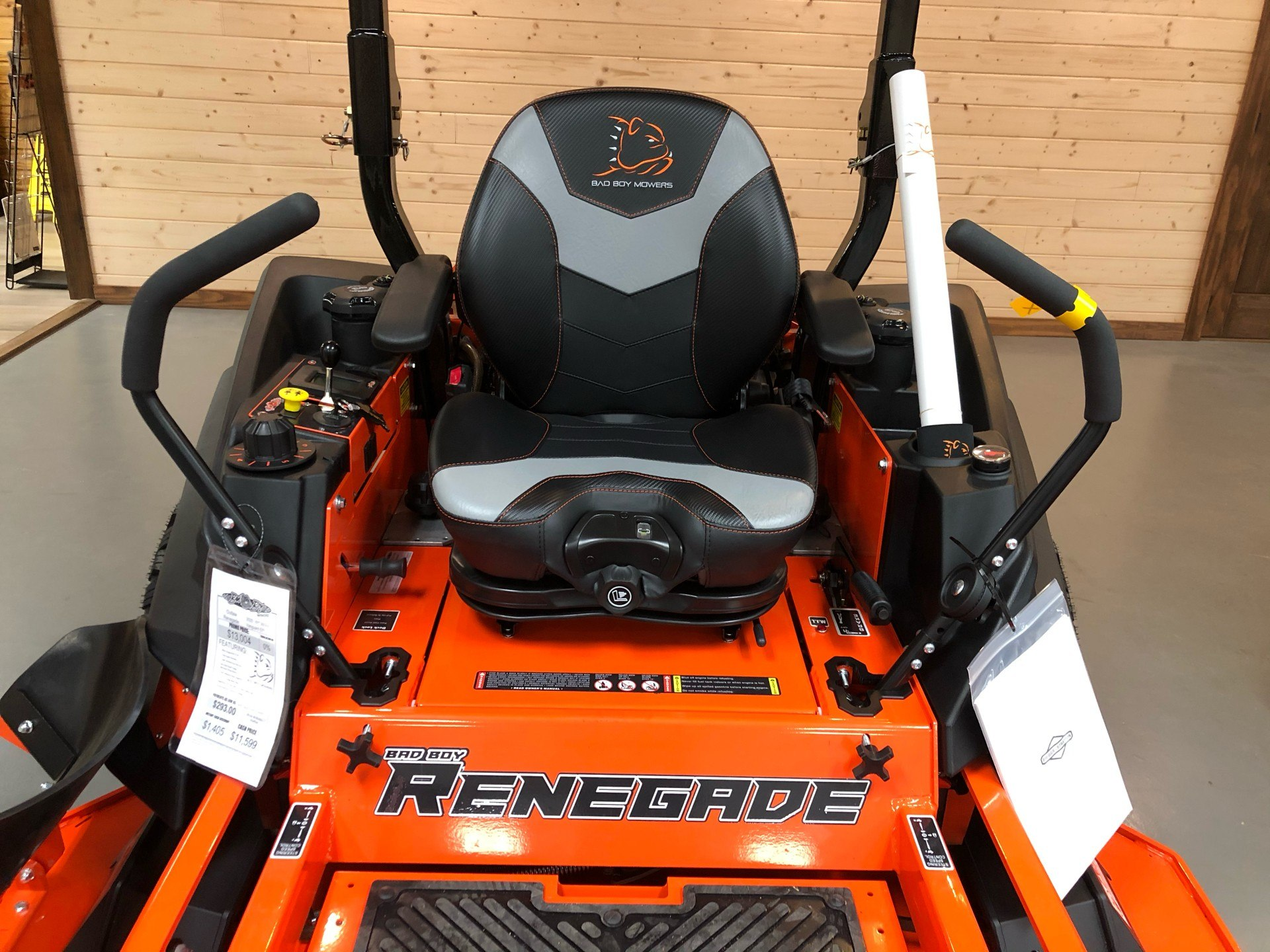 2020 Bad Boy Mowers Renegade 61 in. Vanguard EFI 993 cc in Saucier, Mississippi - Photo 2