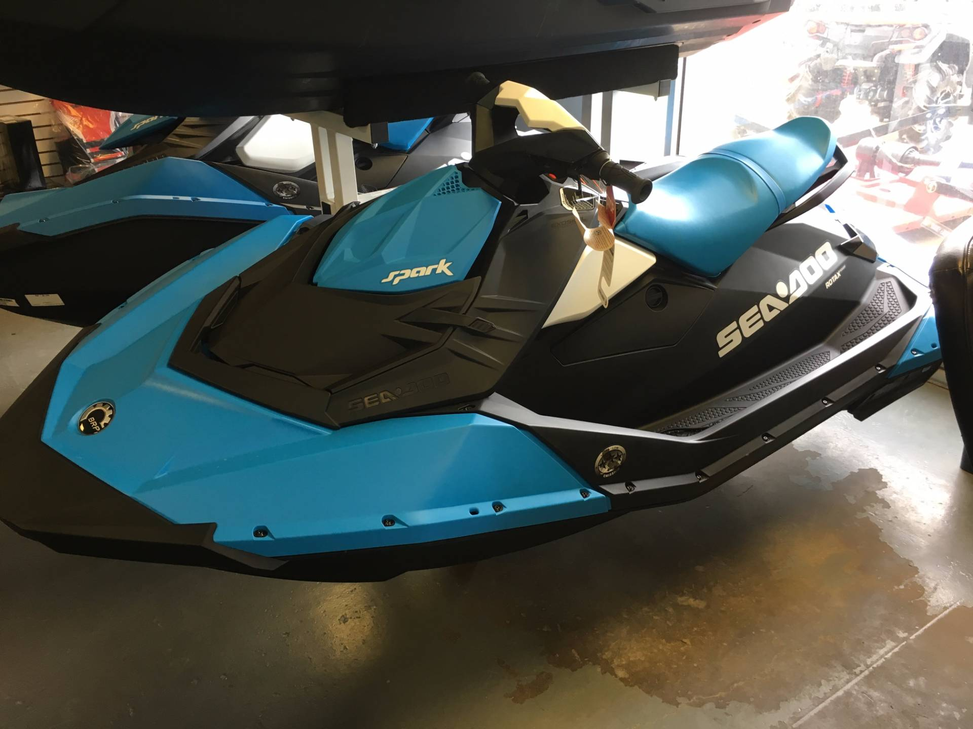 2017 Sea-Doo SPARK 2up 900 H.O. ACE iBR & Convenience Package Plus in Saucier, Mississippi