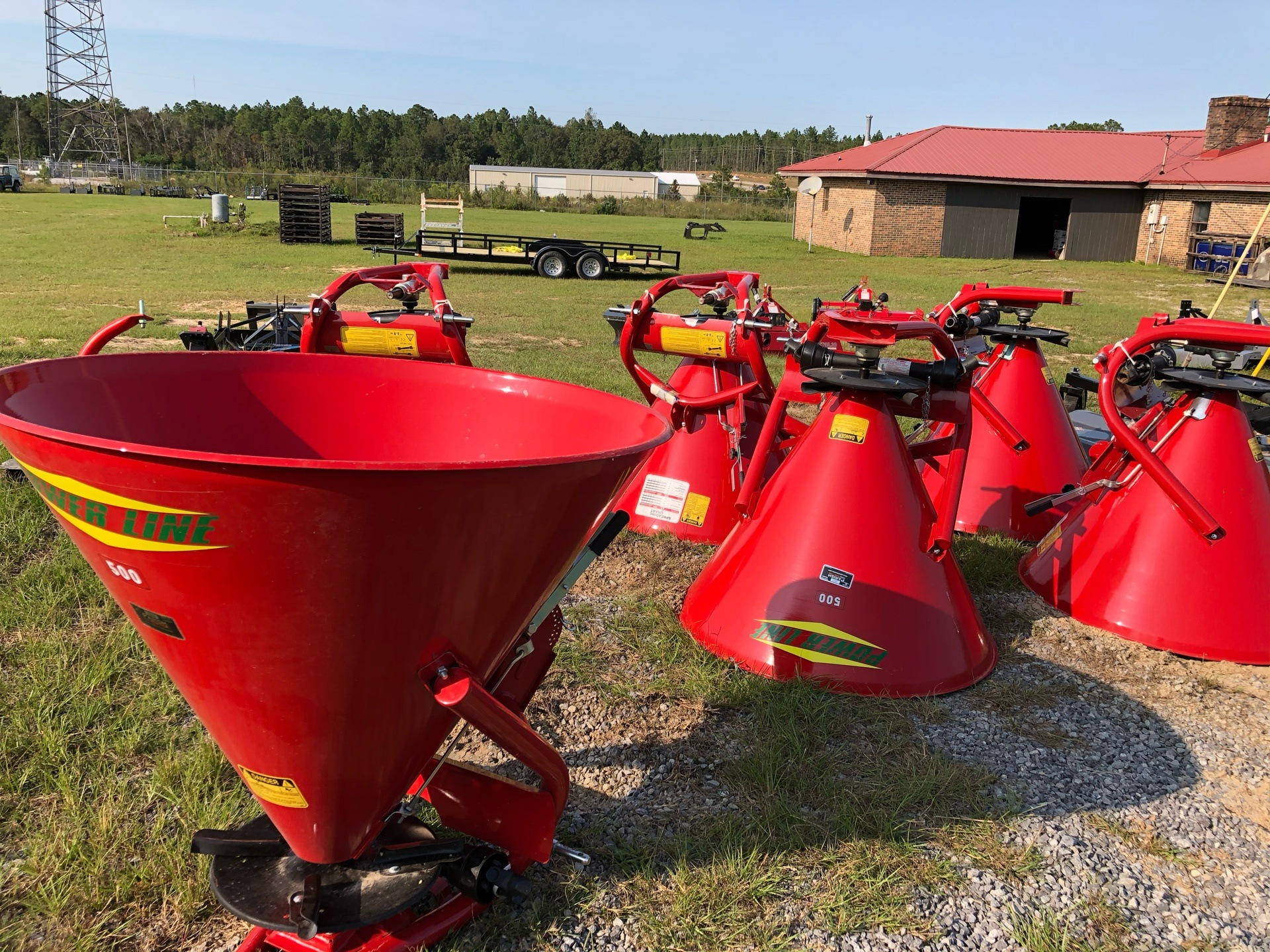 2020 Ranchland Implements Cosmo Spreader 750lbs Capacity in Saucier, Mississippi - Photo 1
