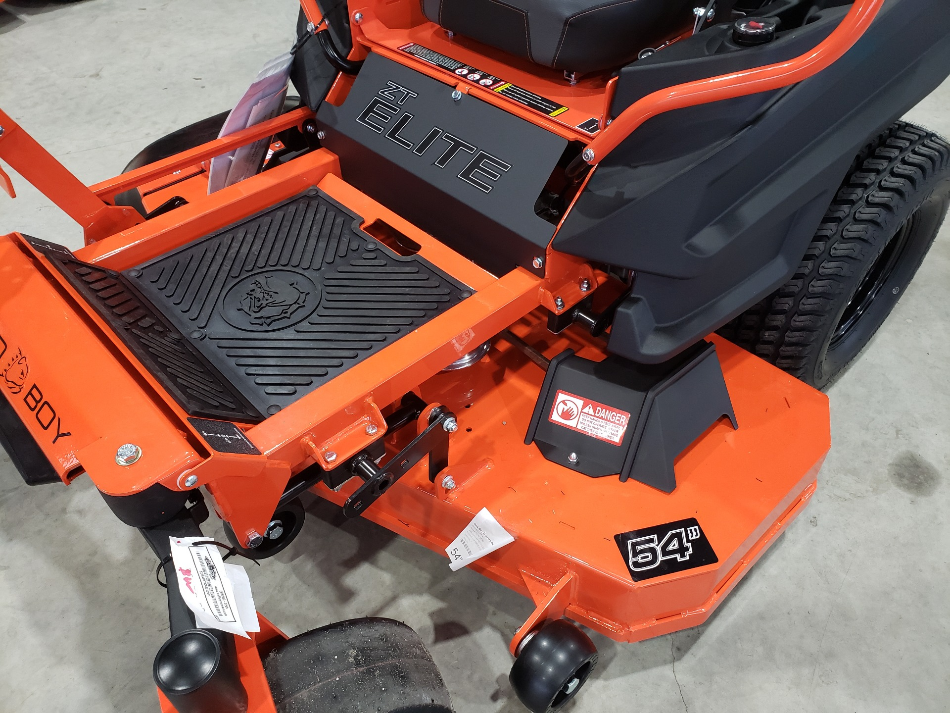 2021 Bad Boy Mowers ZT Elite 54 in. Kawasaki FR730 726 cc in Saucier, Mississippi - Photo 3