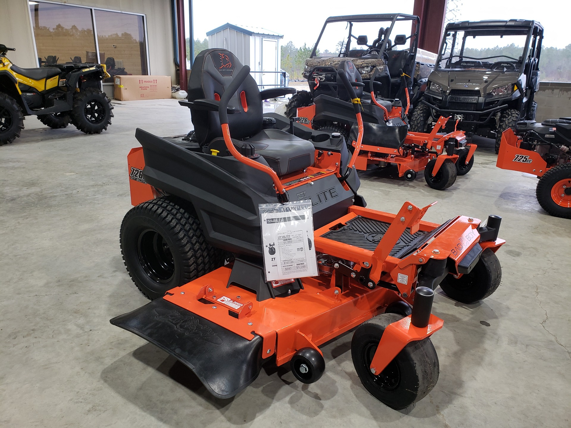 2021 Bad Boy Mowers ZT Elite 54 in. Kawasaki FR730 726 cc in Saucier, Mississippi - Photo 4