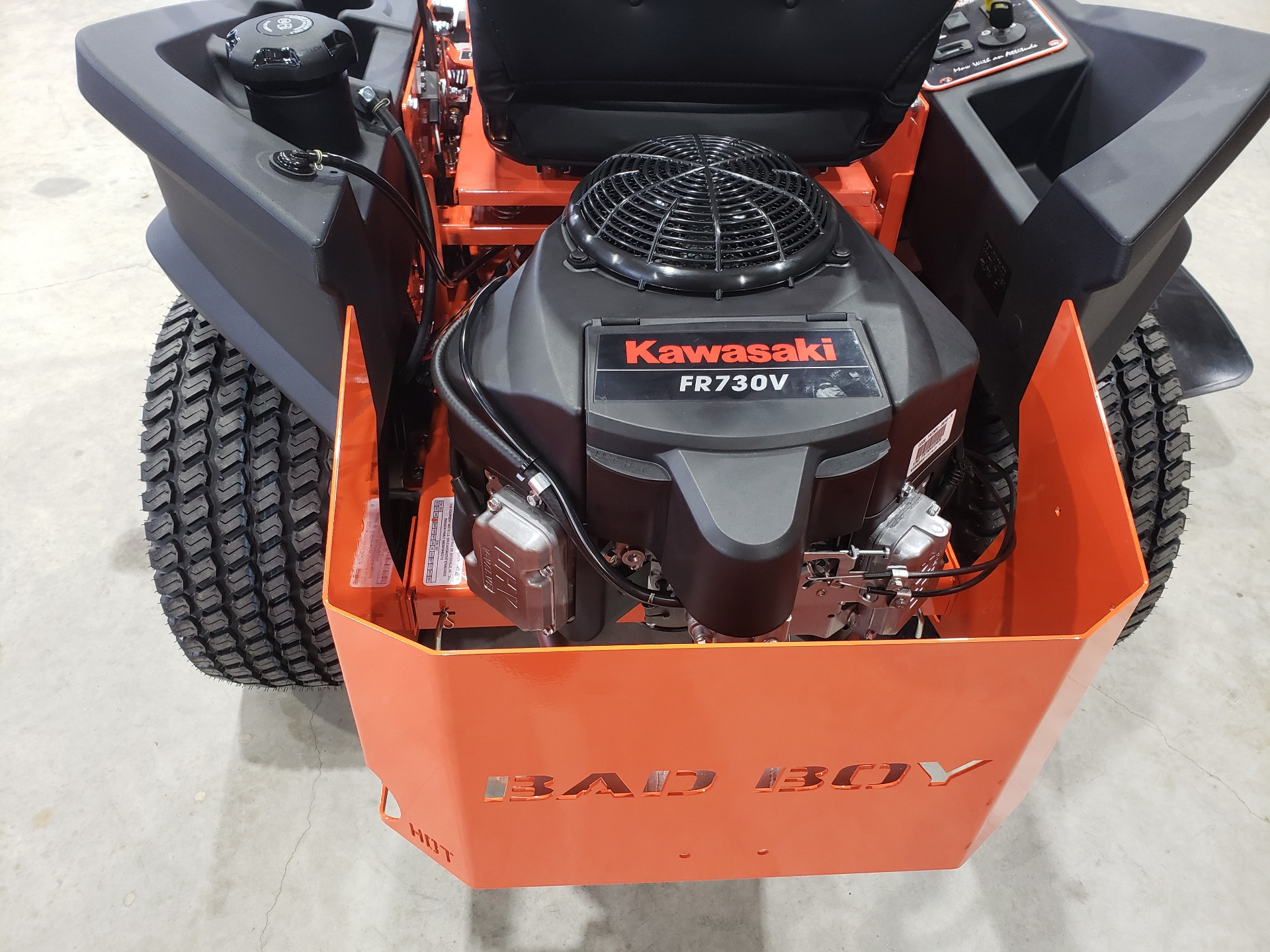 2021 Bad Boy Mowers ZT Elite 54 in. Kawasaki FR730 726 cc in Saucier, Mississippi - Photo 8