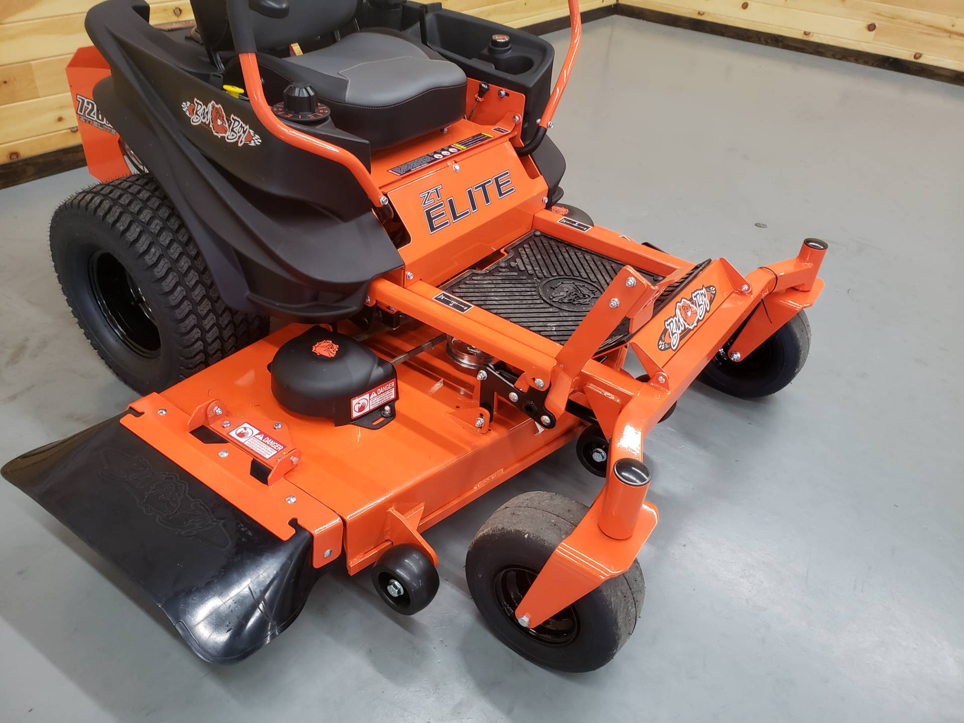 "2019 Bad Boy Mowers ZT Elite 54"" with Kawasaki FR730 in Saucier, Mississippi - Photo 4"
