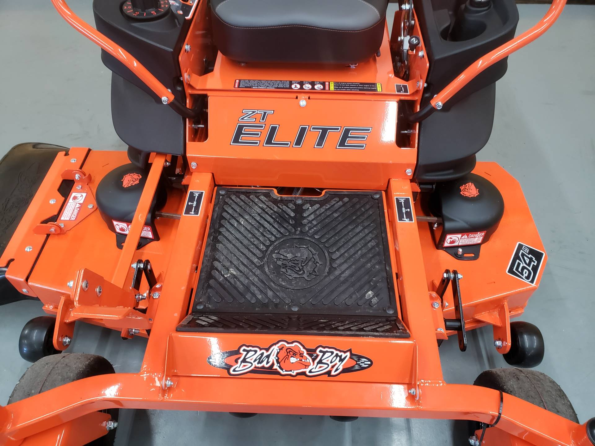 "2019 Bad Boy Mowers ZT Elite 54"" with Kawasaki FR730 in Saucier, Mississippi - Photo 5"