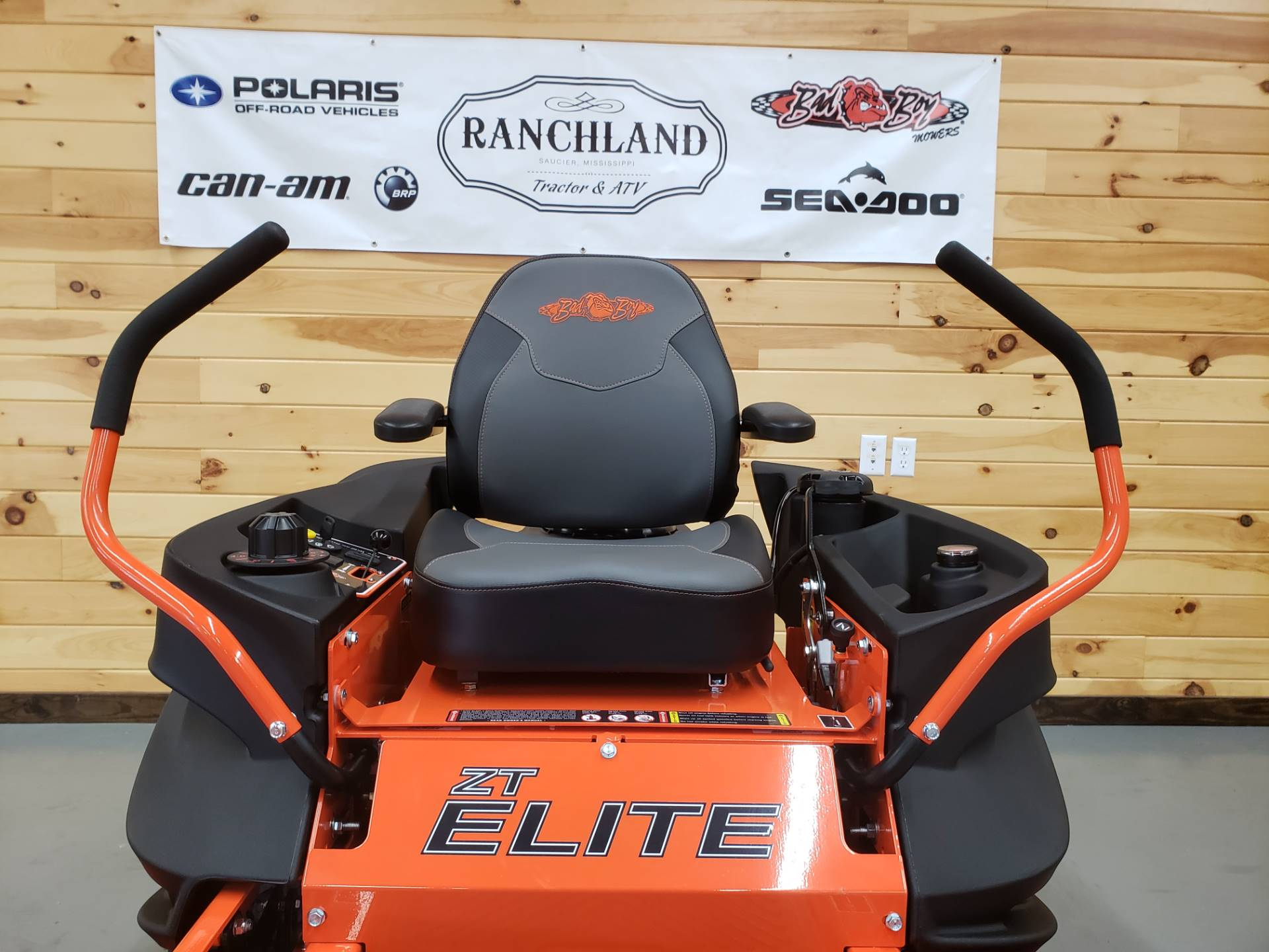 "2019 Bad Boy Mowers ZT Elite 54"" with Kawasaki FR730 in Saucier, Mississippi - Photo 7"