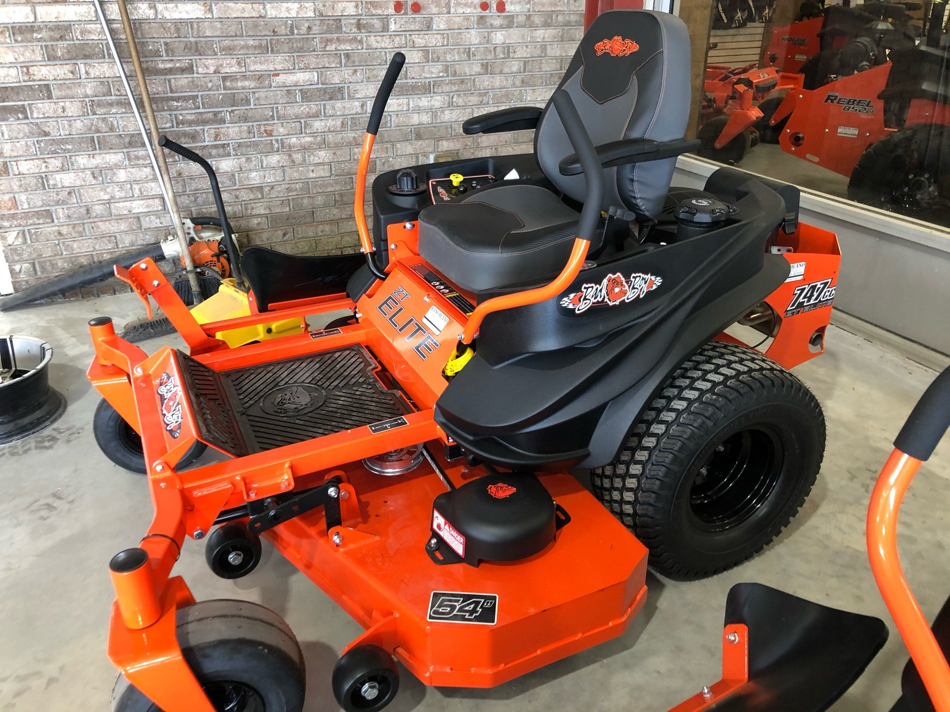 2020 Bad Boy Mowers ZT Elite 54 in. Kohler Pro 7000 747 cc in Saucier, Mississippi - Photo 4