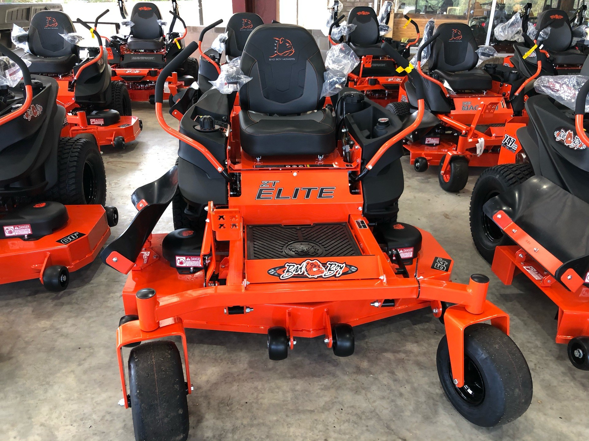 2020 Bad Boy Mowers ZT Elite 54 in. Kohler Pro 7000 747 cc in Saucier, Mississippi - Photo 2