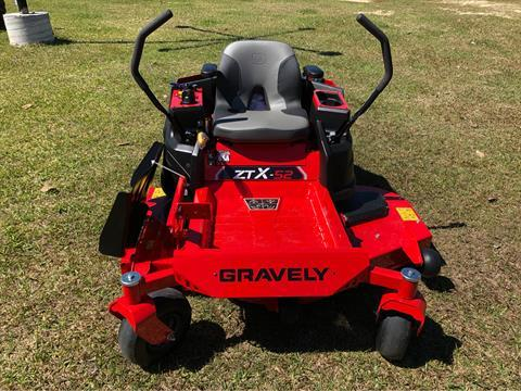 2019 Gravely USA ZT X 52 (Kohler) in Saucier, Mississippi - Photo 2