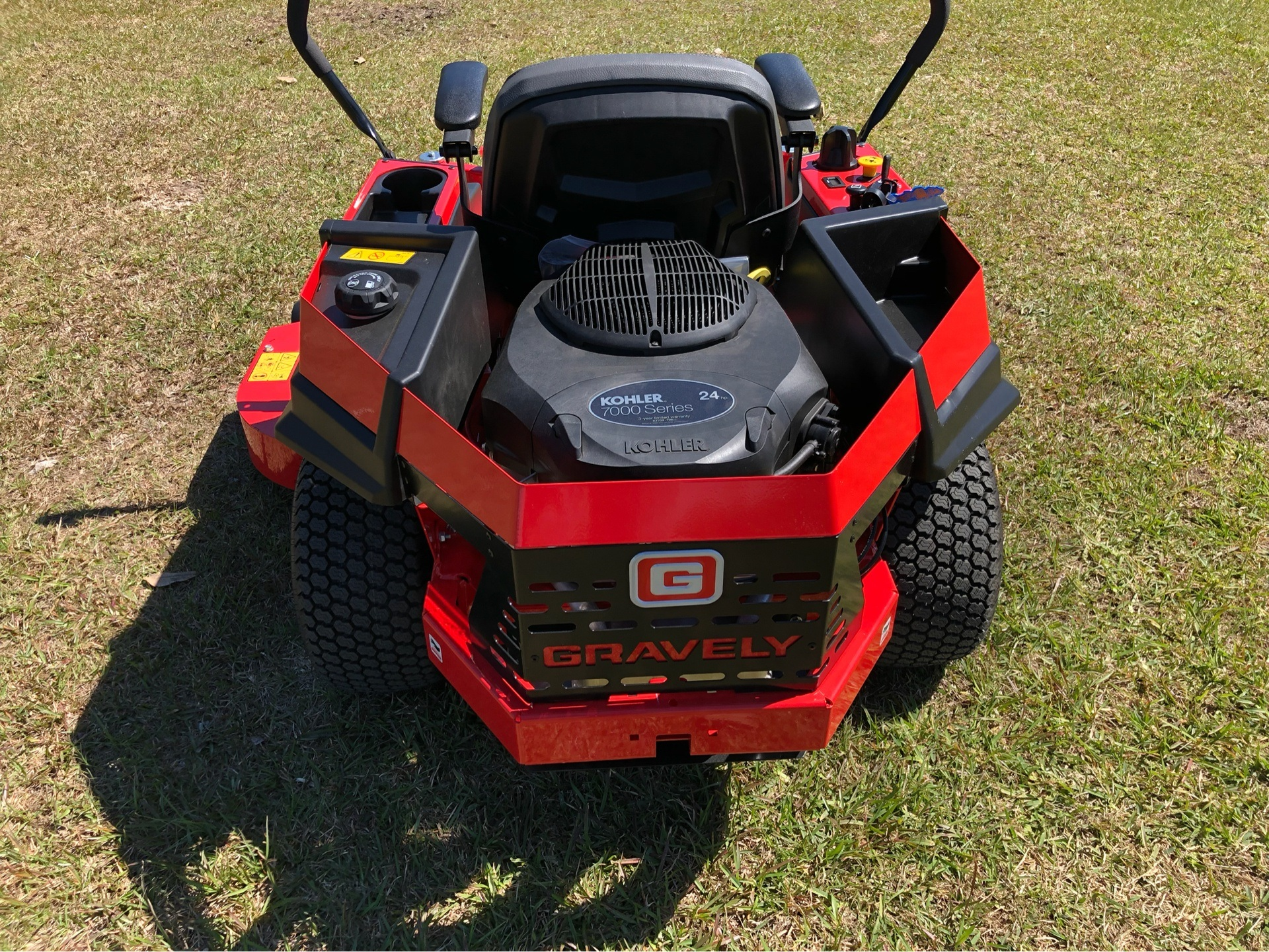 2019 Gravely USA ZT X 52 Kohler 25hp Zero Turn Mower in Saucier, Mississippi - Photo 6