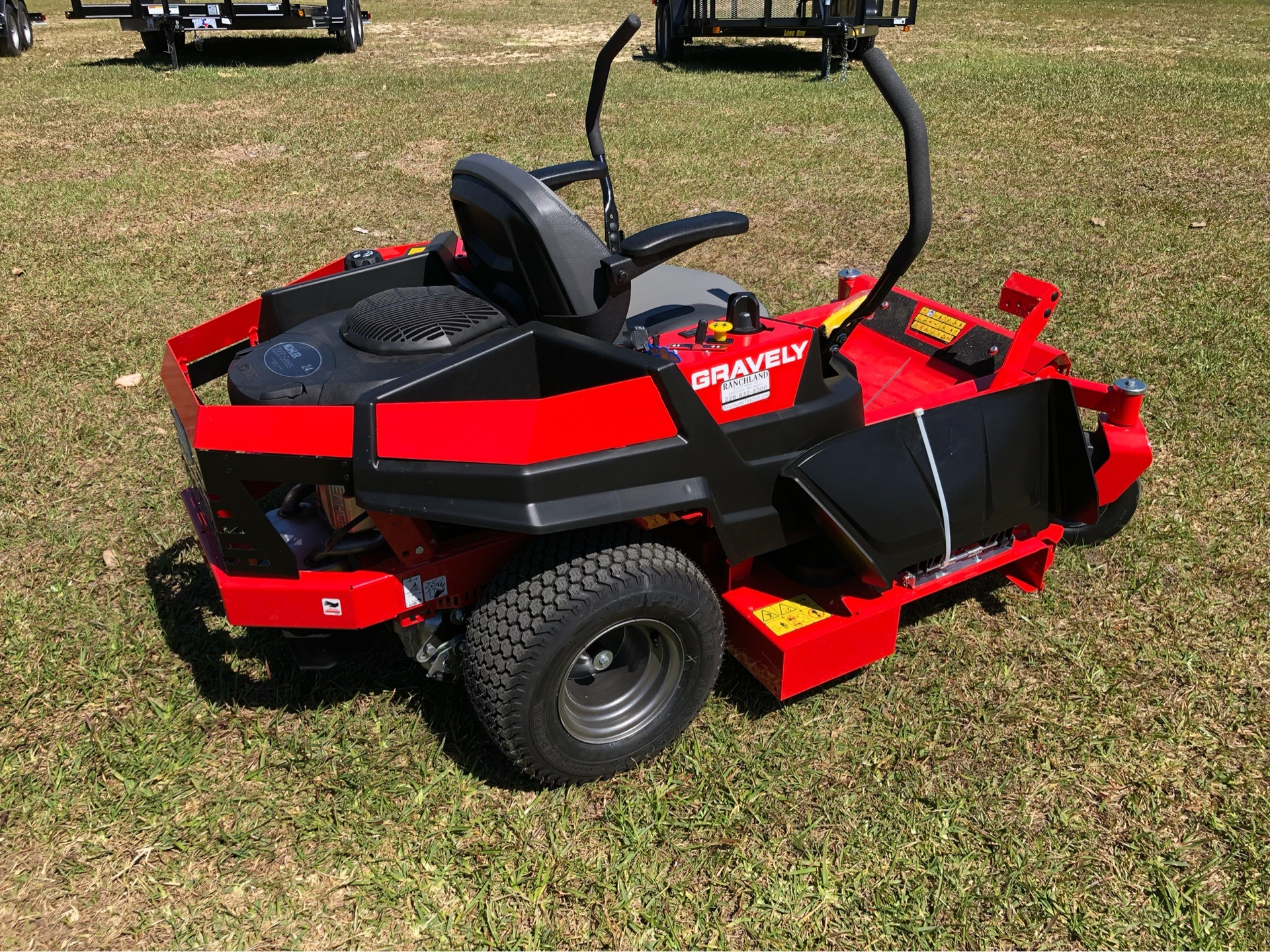 2019 Gravely USA ZT X 52 Kohler 25hp Zero Turn Mower in Saucier, Mississippi - Photo 11