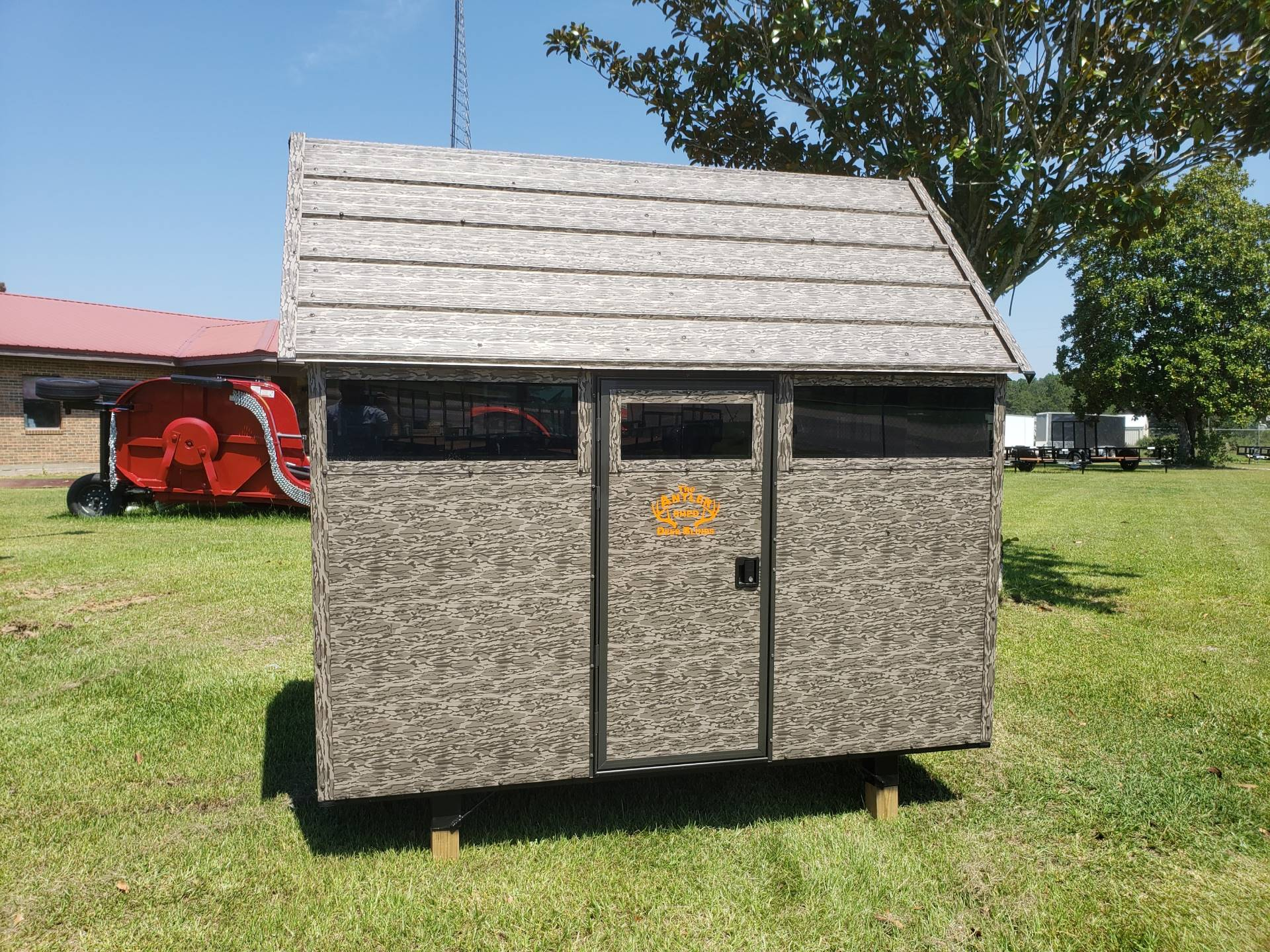 2020 The Antler Shed 5x8 Shooting House w/ Sliding Windows in Saucier, Mississippi - Photo 1